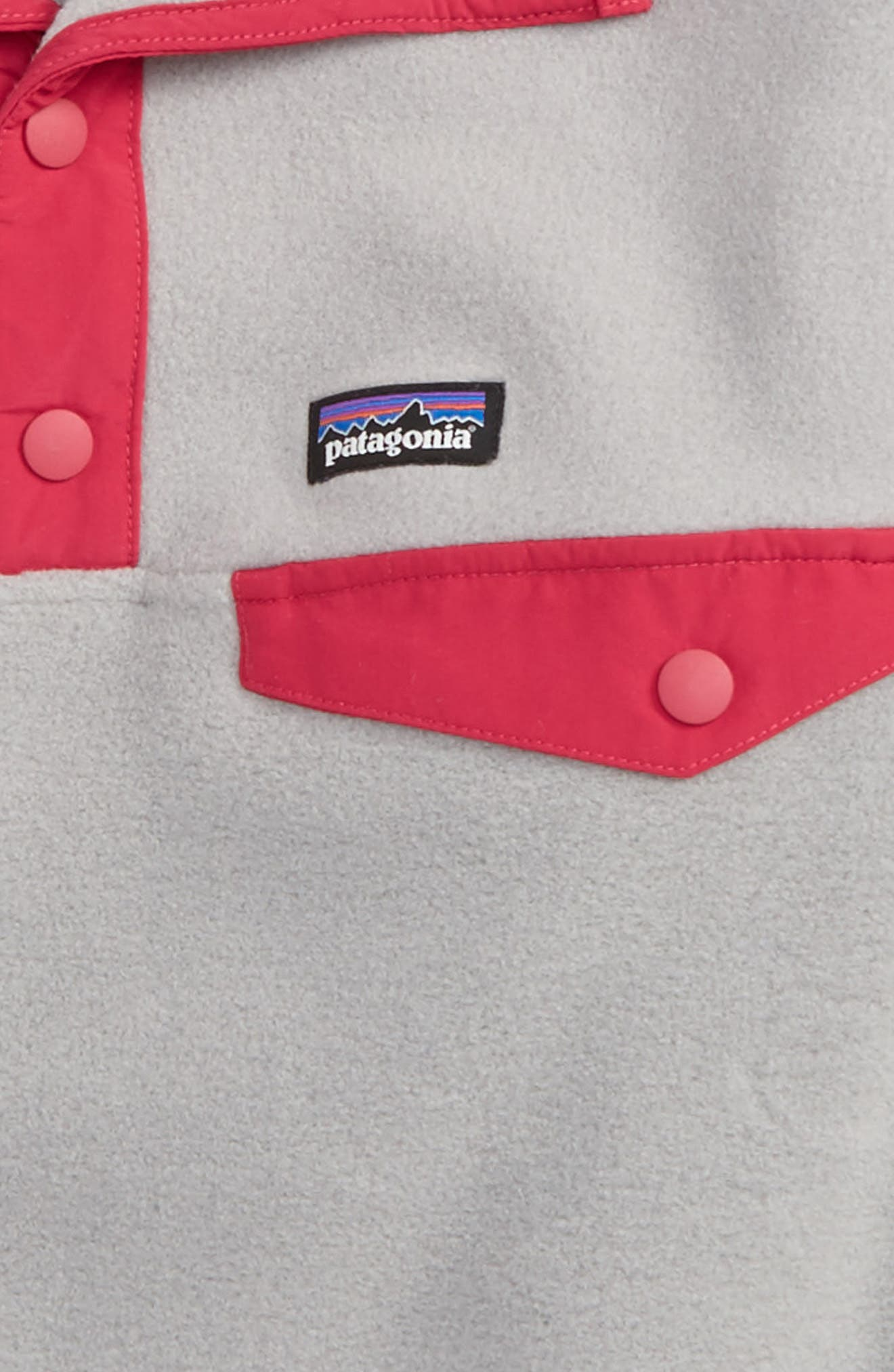 Synchilla<sup>®</sup> Snap-T<sup>®</sup> Fleece Pullover,                             Alternate thumbnail 2, color,                             Drift Grey