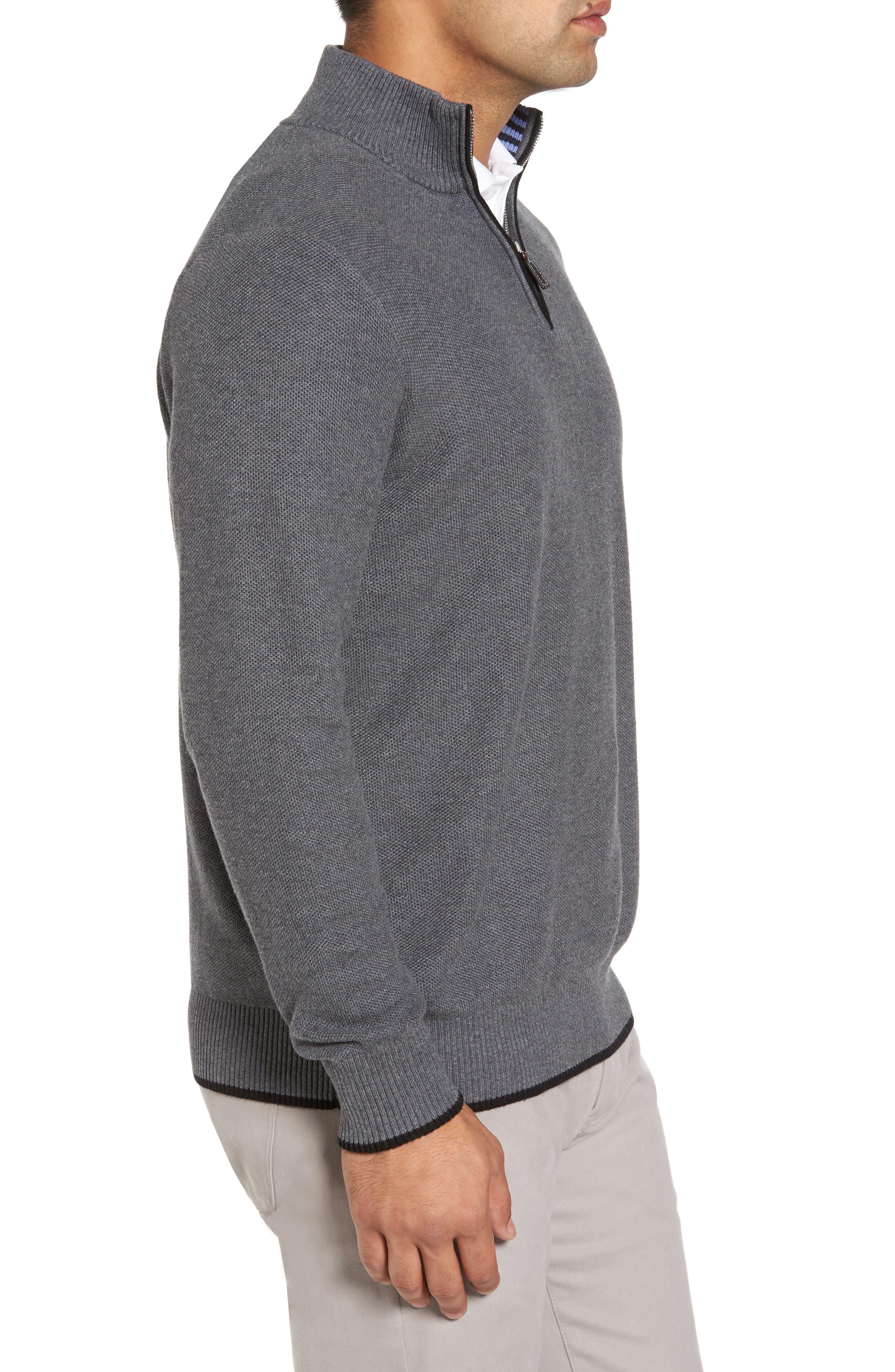 Alternate Image 3  - TailorByrd Kinder Quarter Zip Pullover