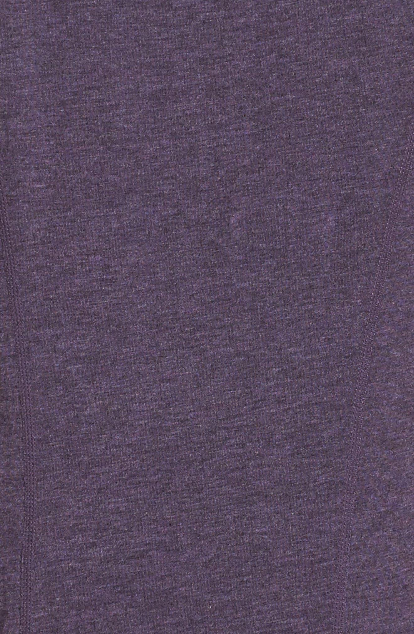'Siesta' Studio Tee,                             Alternate thumbnail 6, color,                             Purple Plum Heather