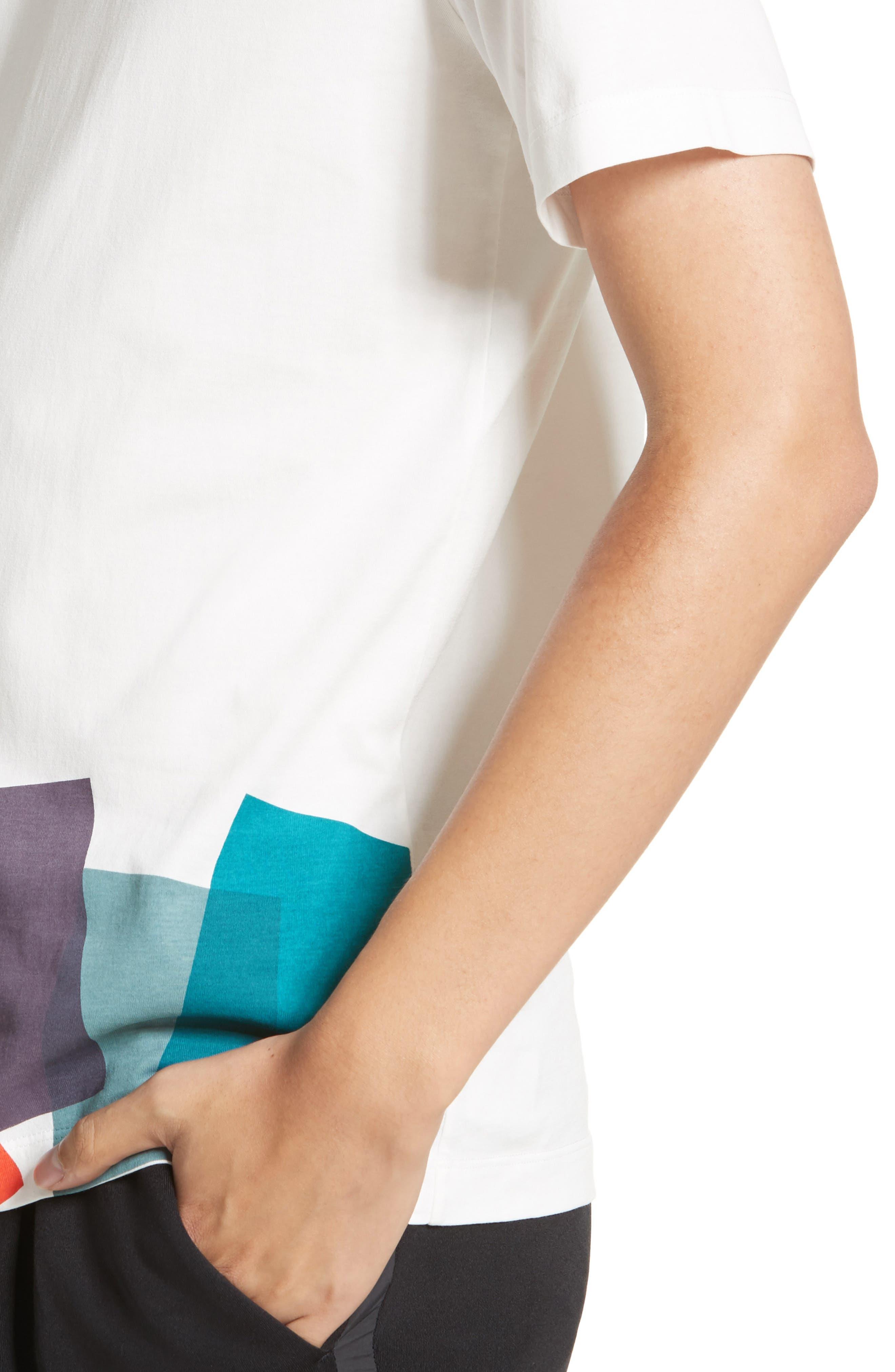 Alternate Image 4  - Paul Smith Colorblock Print T-shirt
