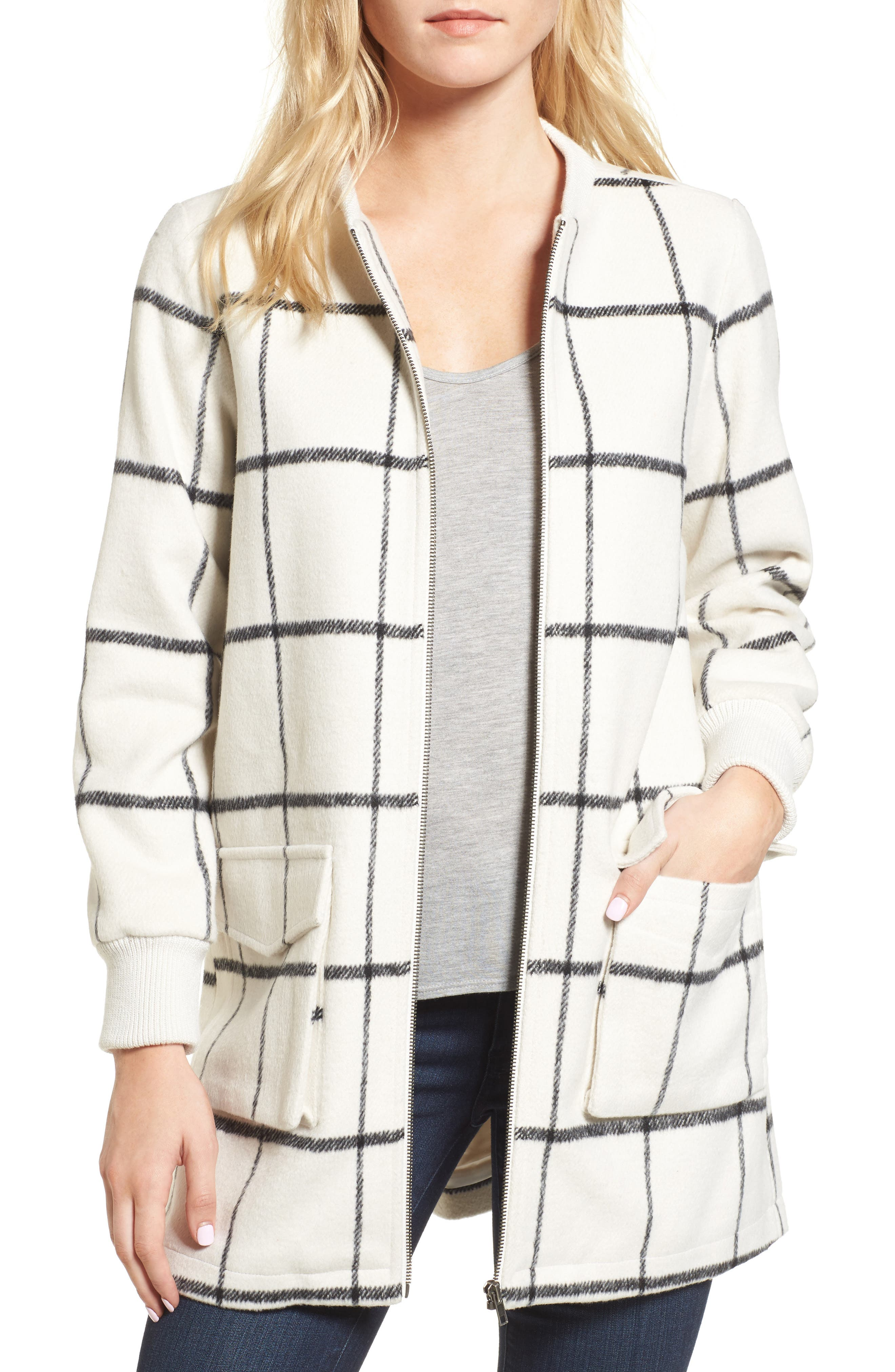 Belva Jacket,                         Main,                         color, Oatmeal