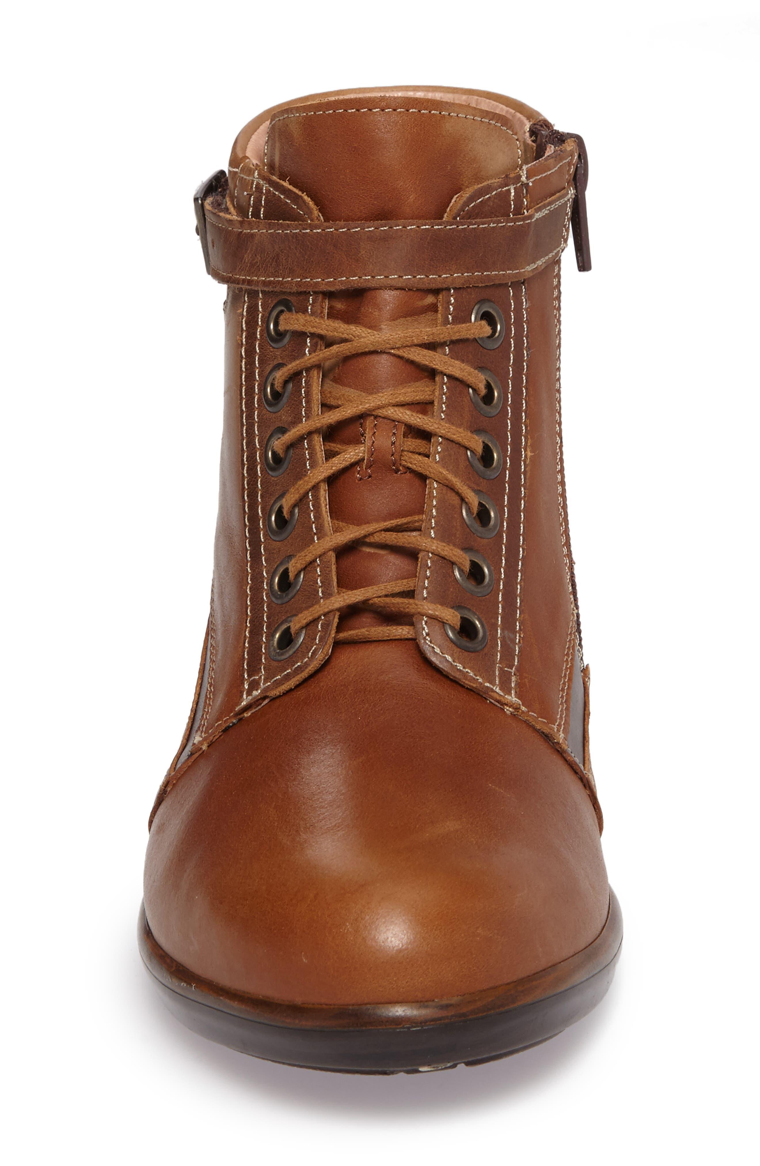 Kona Boot,                             Alternate thumbnail 4, color,                             Vintage Camel Leather