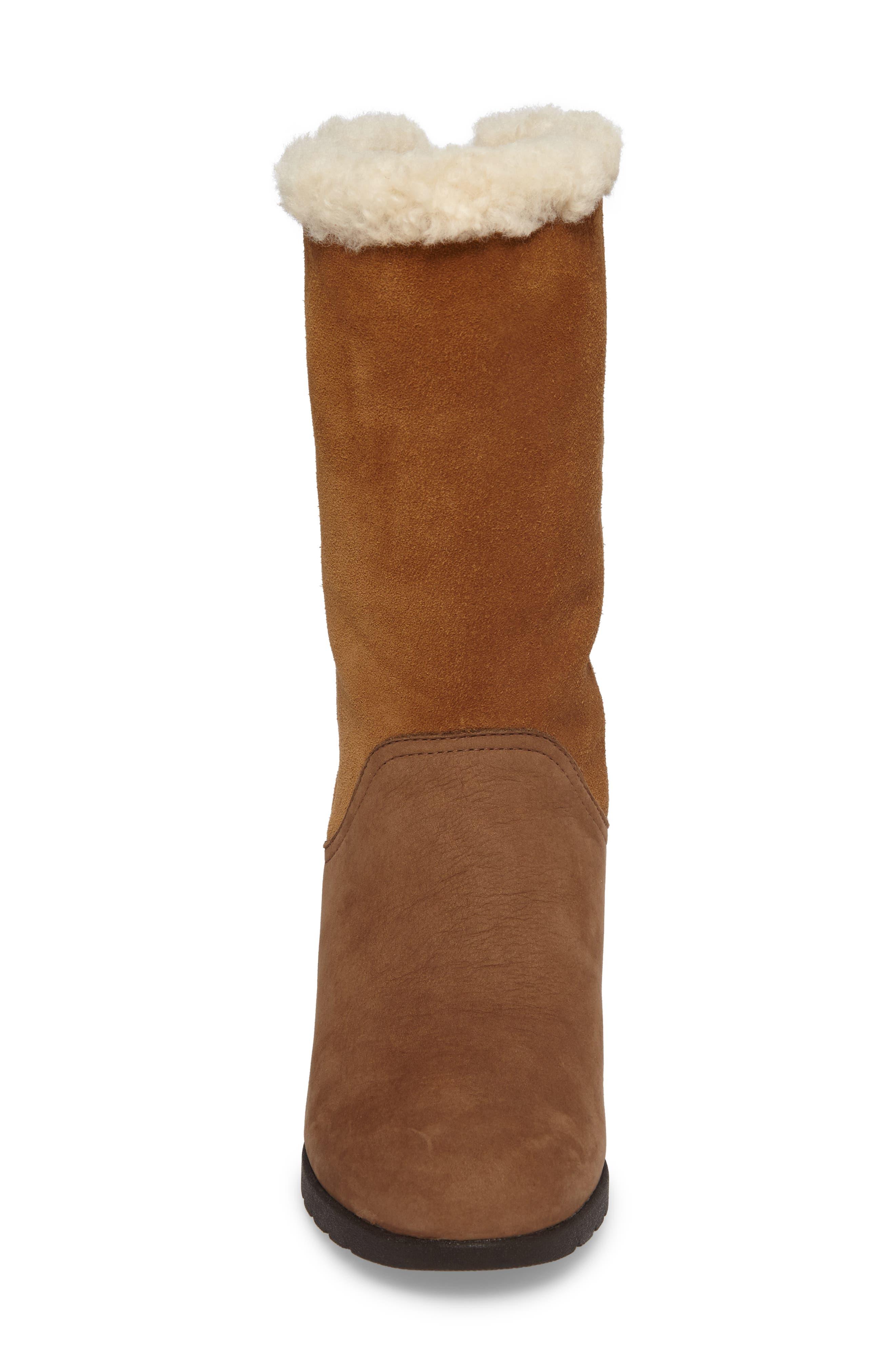 Alternate Image 4  - UGG® Edelina Waterproof Wedge Boot (Women)