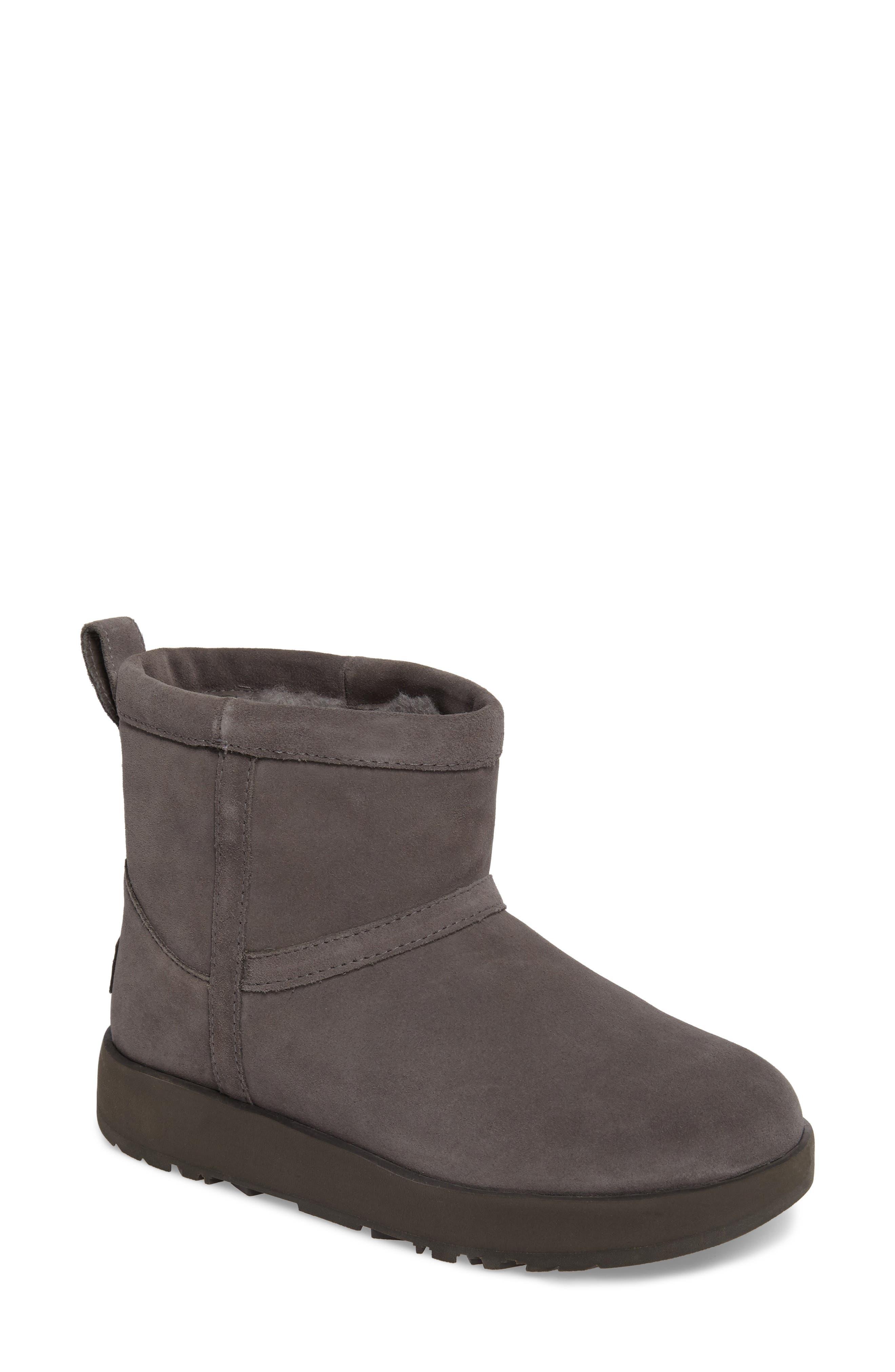Alternate Image 1 Selected - UGG® Classic Mini Waterproof Boot (Women)