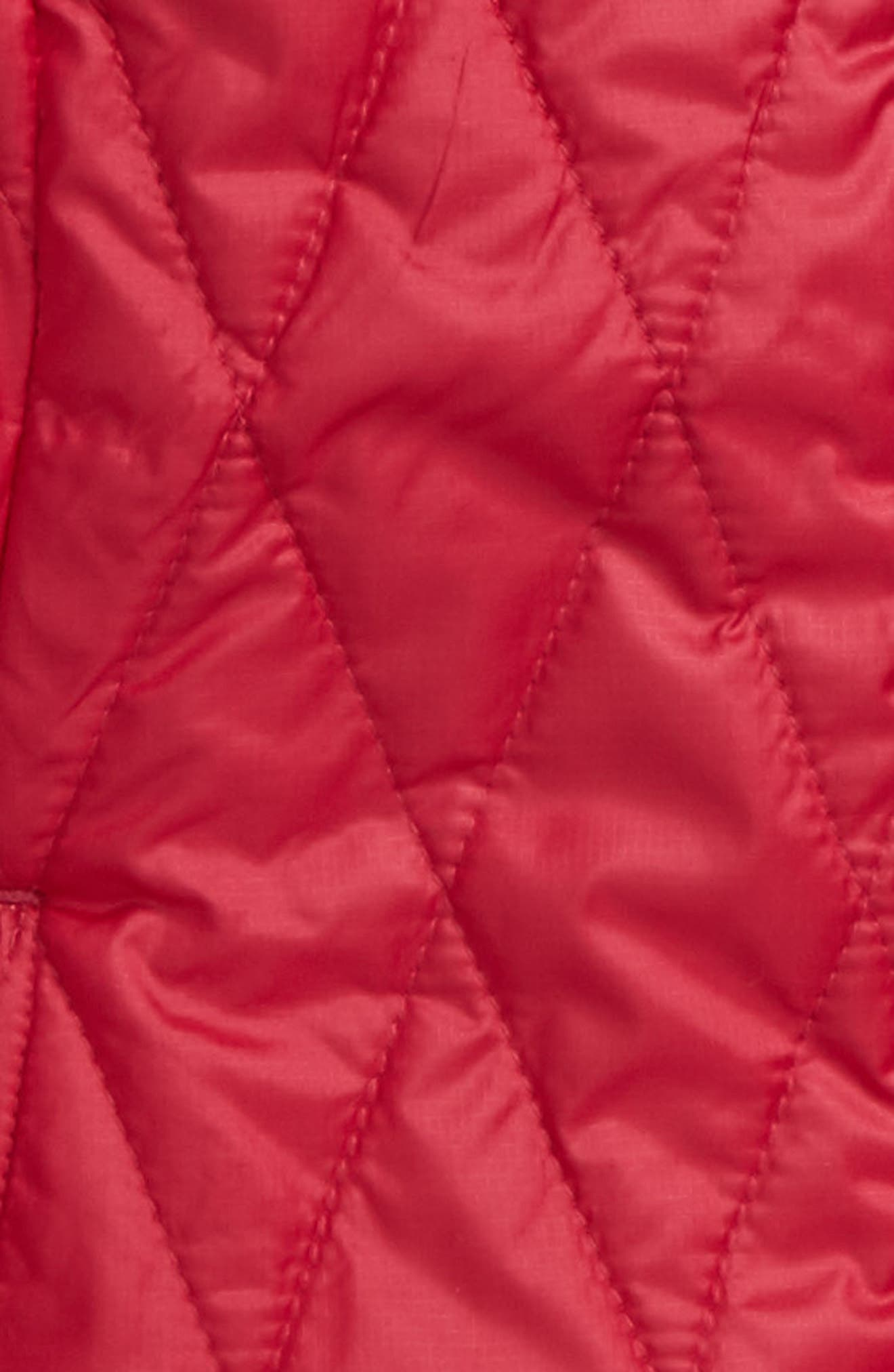 Alternate Image 2  - Patagonia Nano Puff® Quilted Water Resistant Jacket (Little Girls & Big Girls)