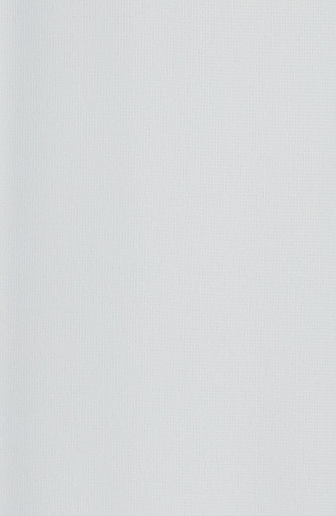 'Cait' Chiffon Halter Gown,                             Alternate thumbnail 5, color,                             Cloud