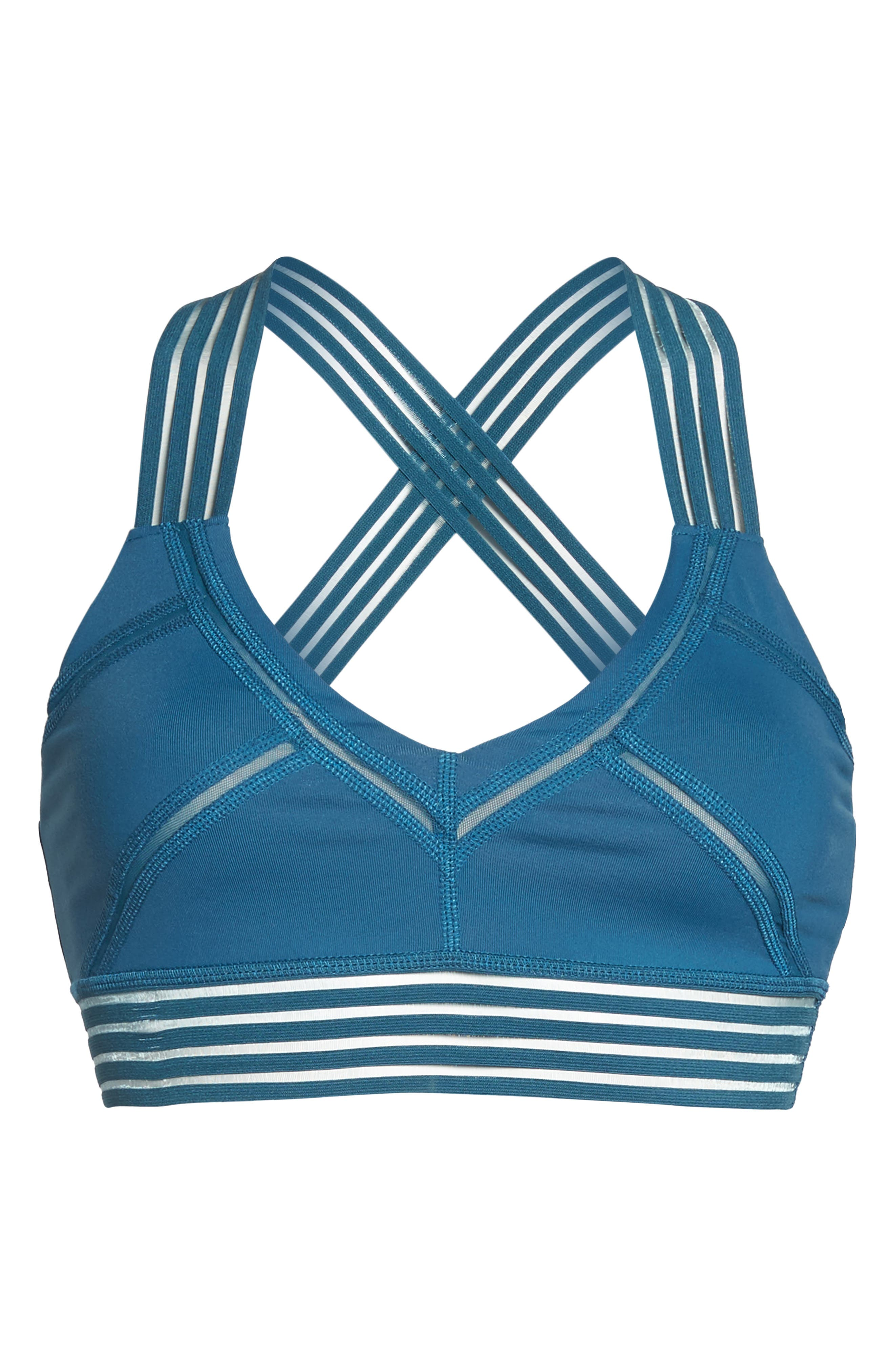 Infinite Sports Bra,                             Alternate thumbnail 8, color,                             Legion Blue