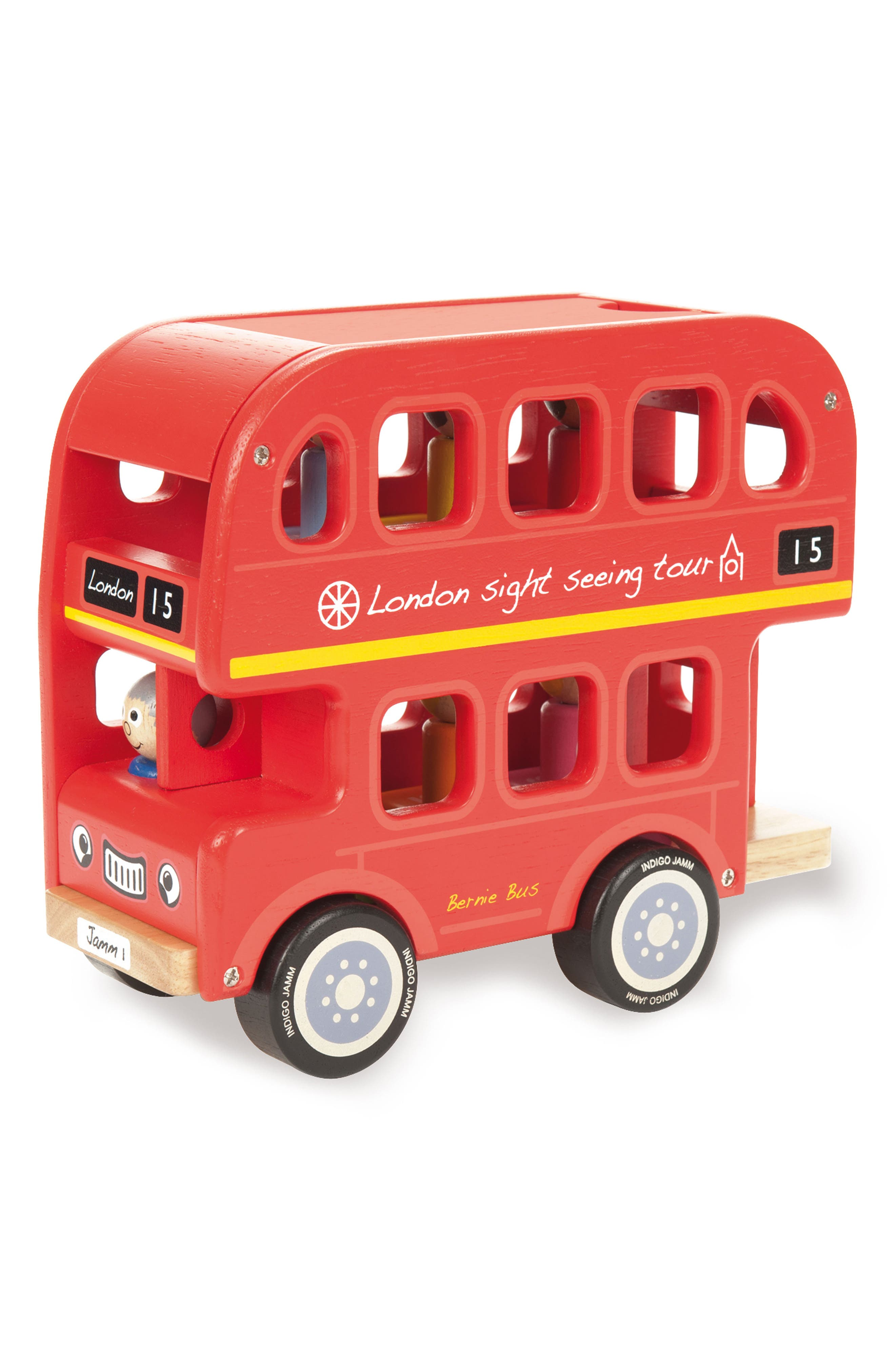 Bernie's Number Bus,                         Main,                         color, Red