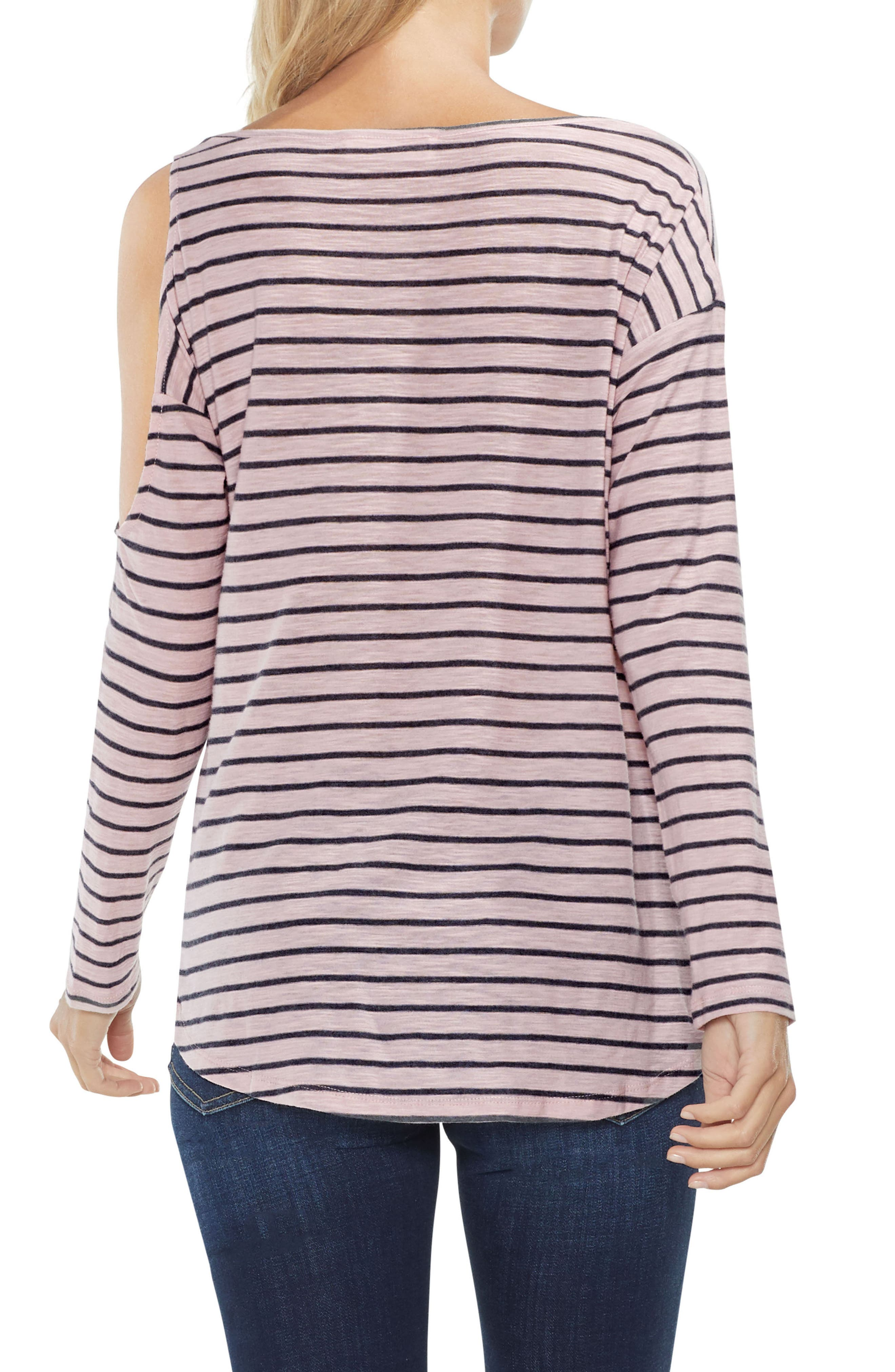 Alternate Image 2  - Two by Vince Camuto Rapid Stripe Top