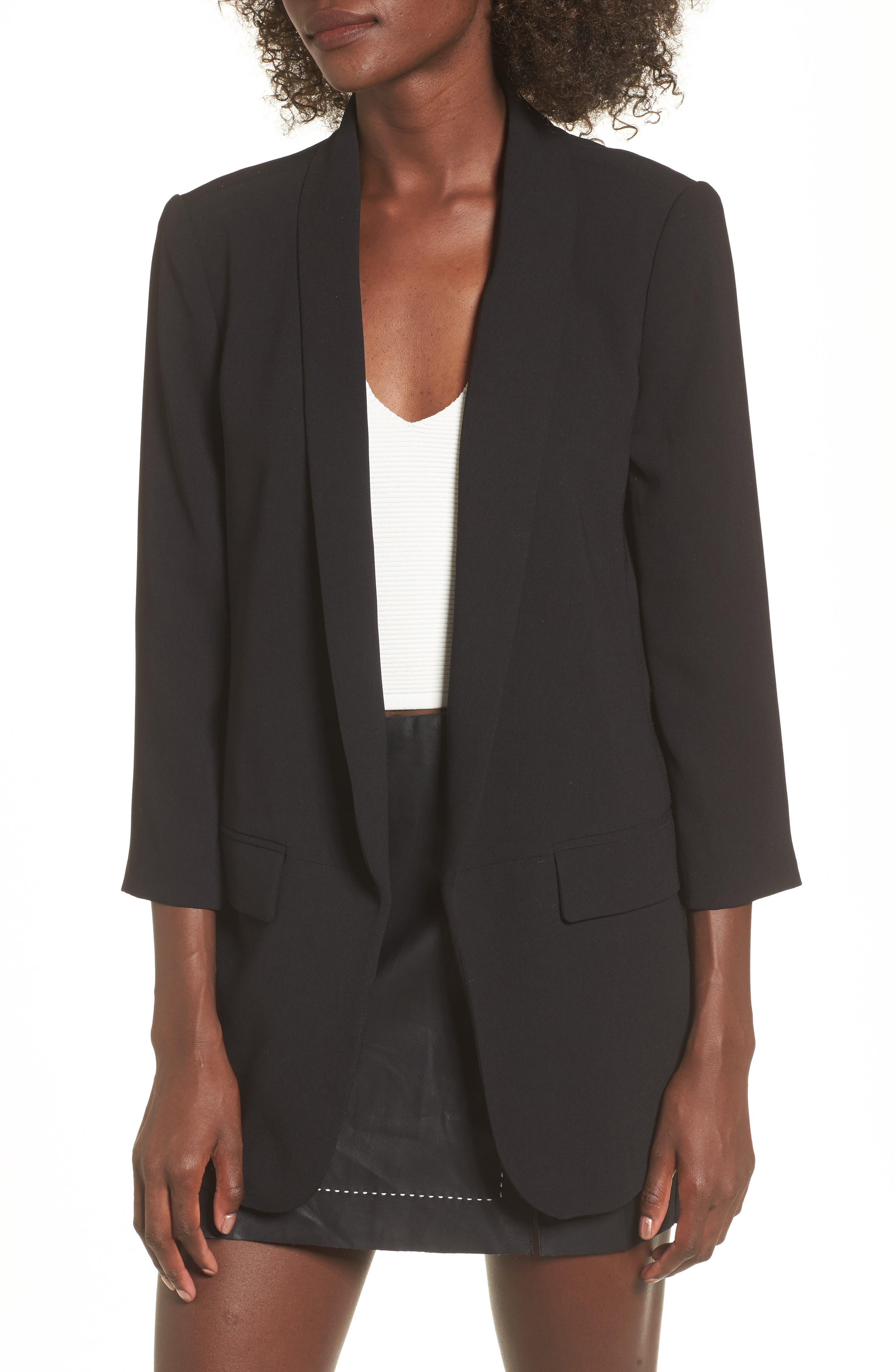 Alternate Image 1 Selected - Leith Longline Blazer
