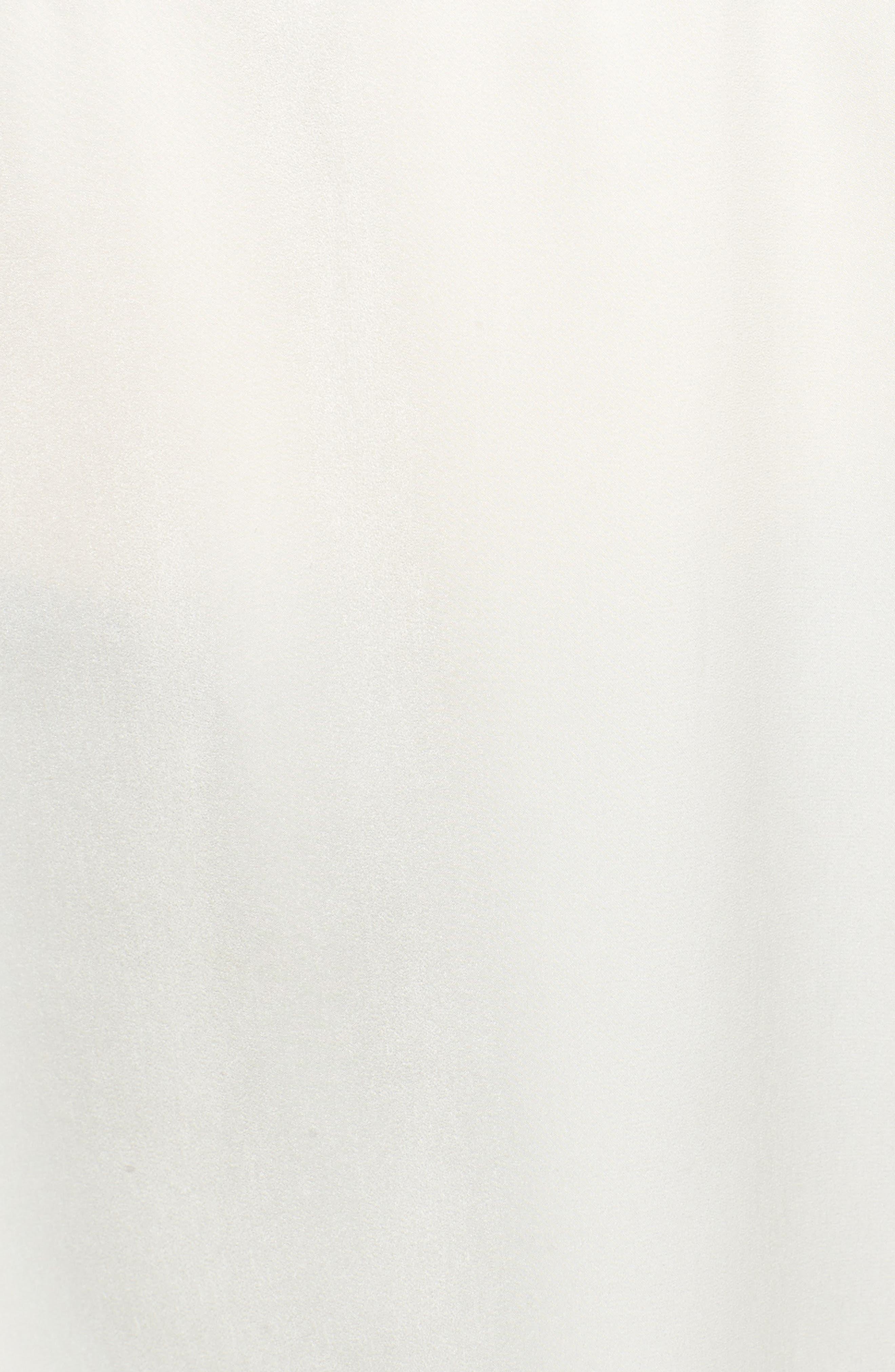 Lace Detail Peasant Blouse,                             Alternate thumbnail 5, color,                             Antique Ivory
