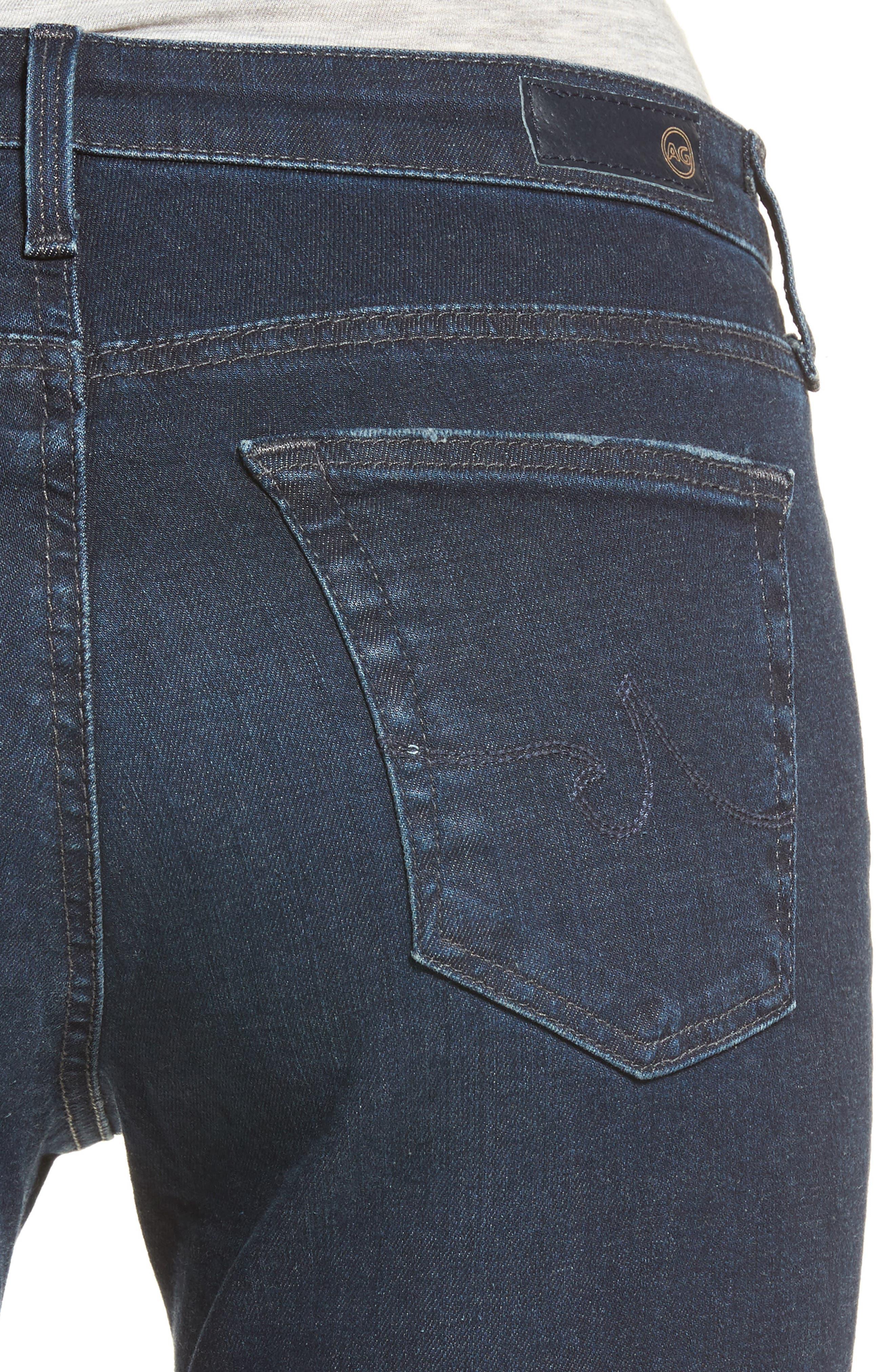 Alternate Image 4  - AG The Legging Ankle Jeans (Emanate)