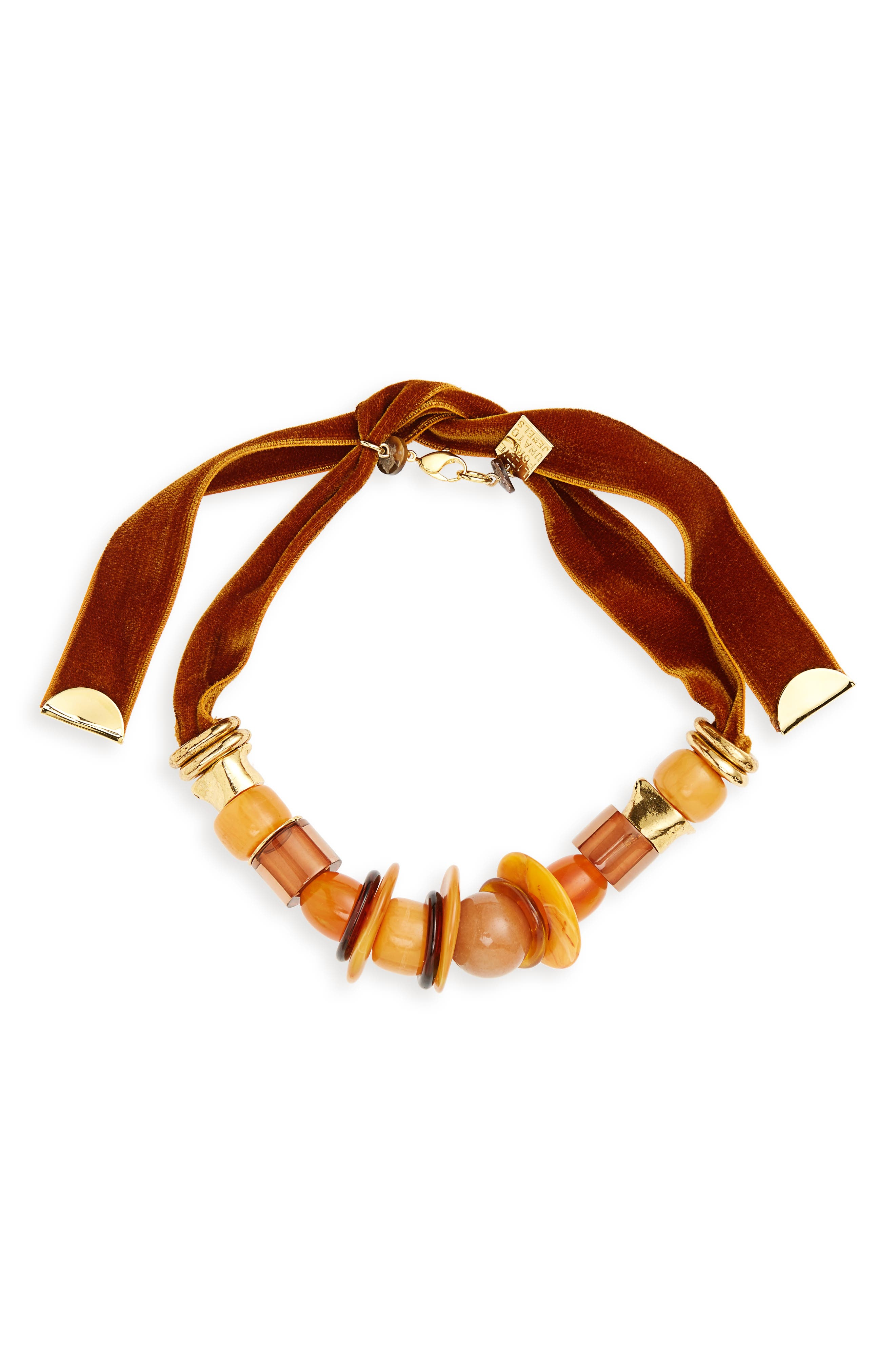 Alternate Image 1 Selected - Lizzie Fortunato Amber Savanna Necklace