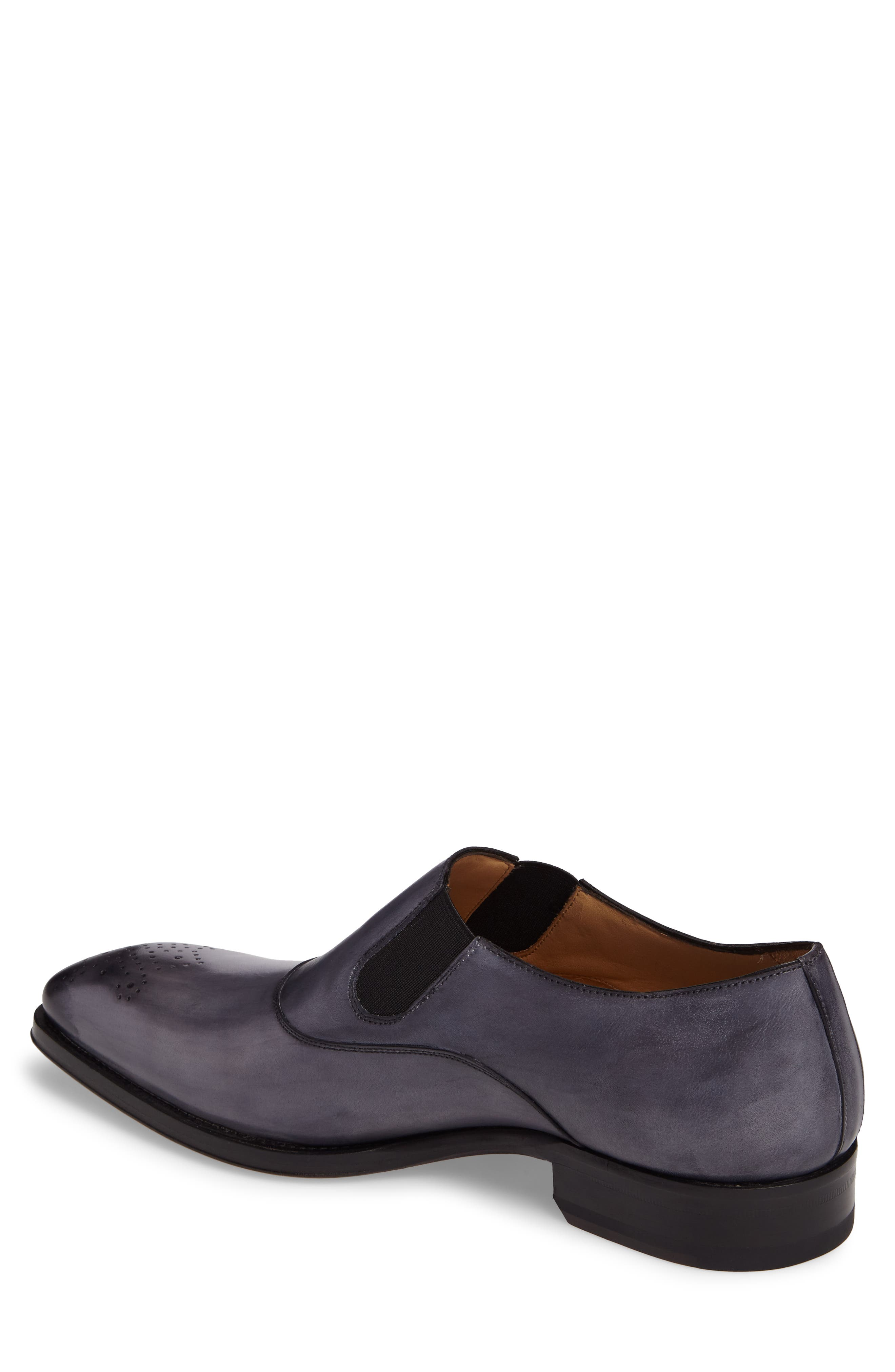 Posadas Venetian Loafer,                             Alternate thumbnail 2, color,                             Grey Leather