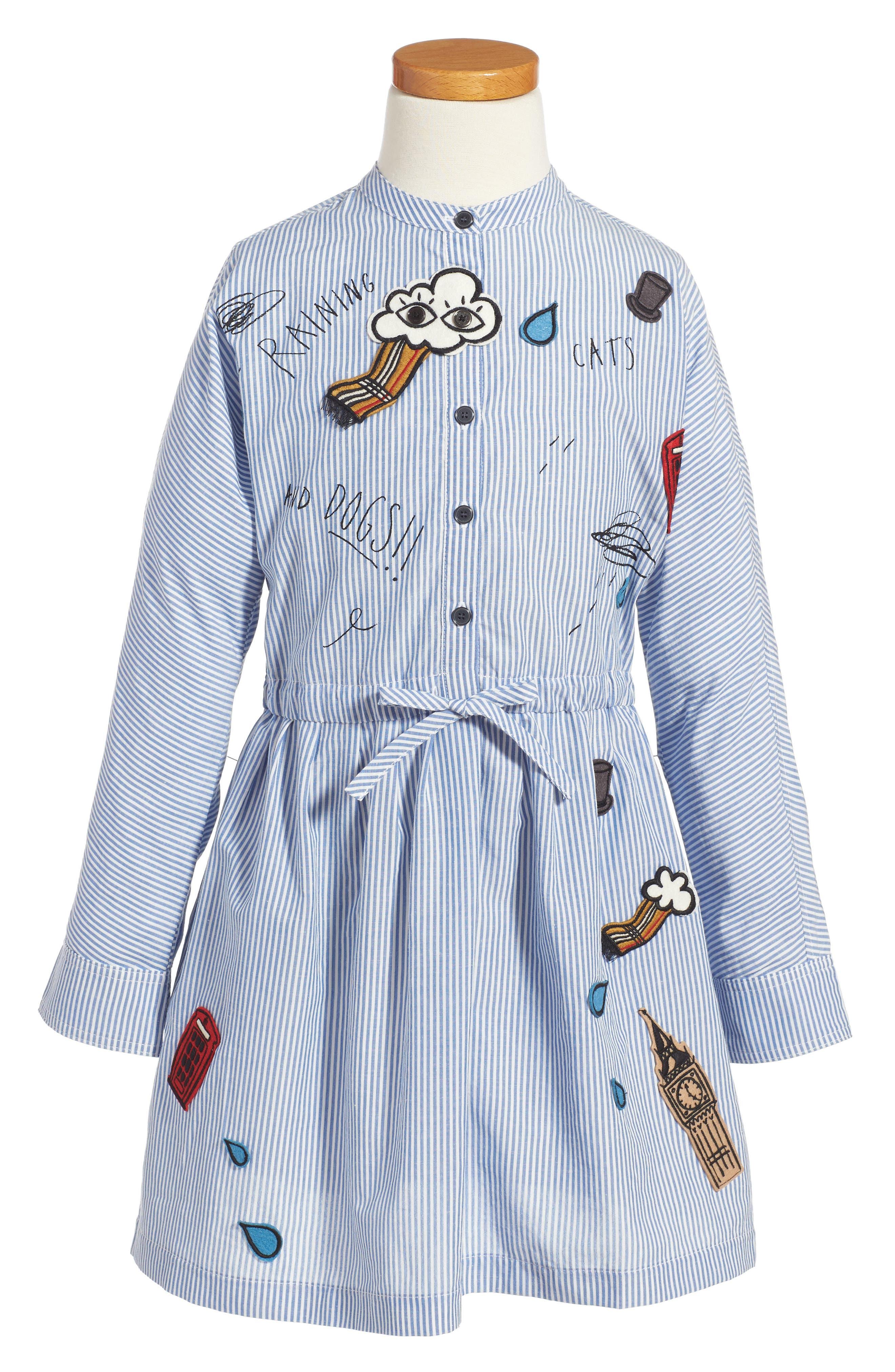 Burberry Mini Cristy Shirtdress (Toddler Girls)