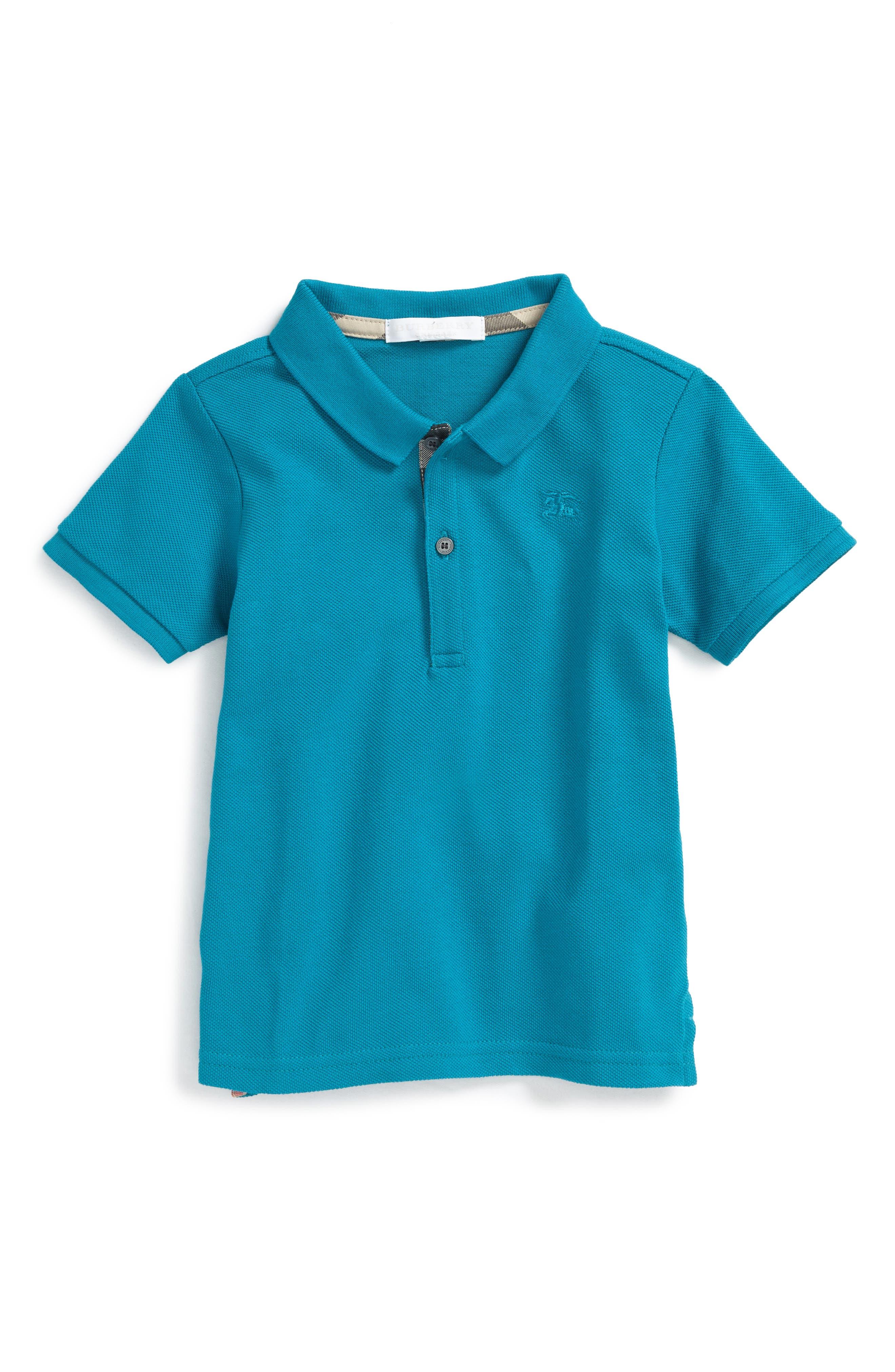 Mini Polo,                         Main,                         color, Ultramarine Blue