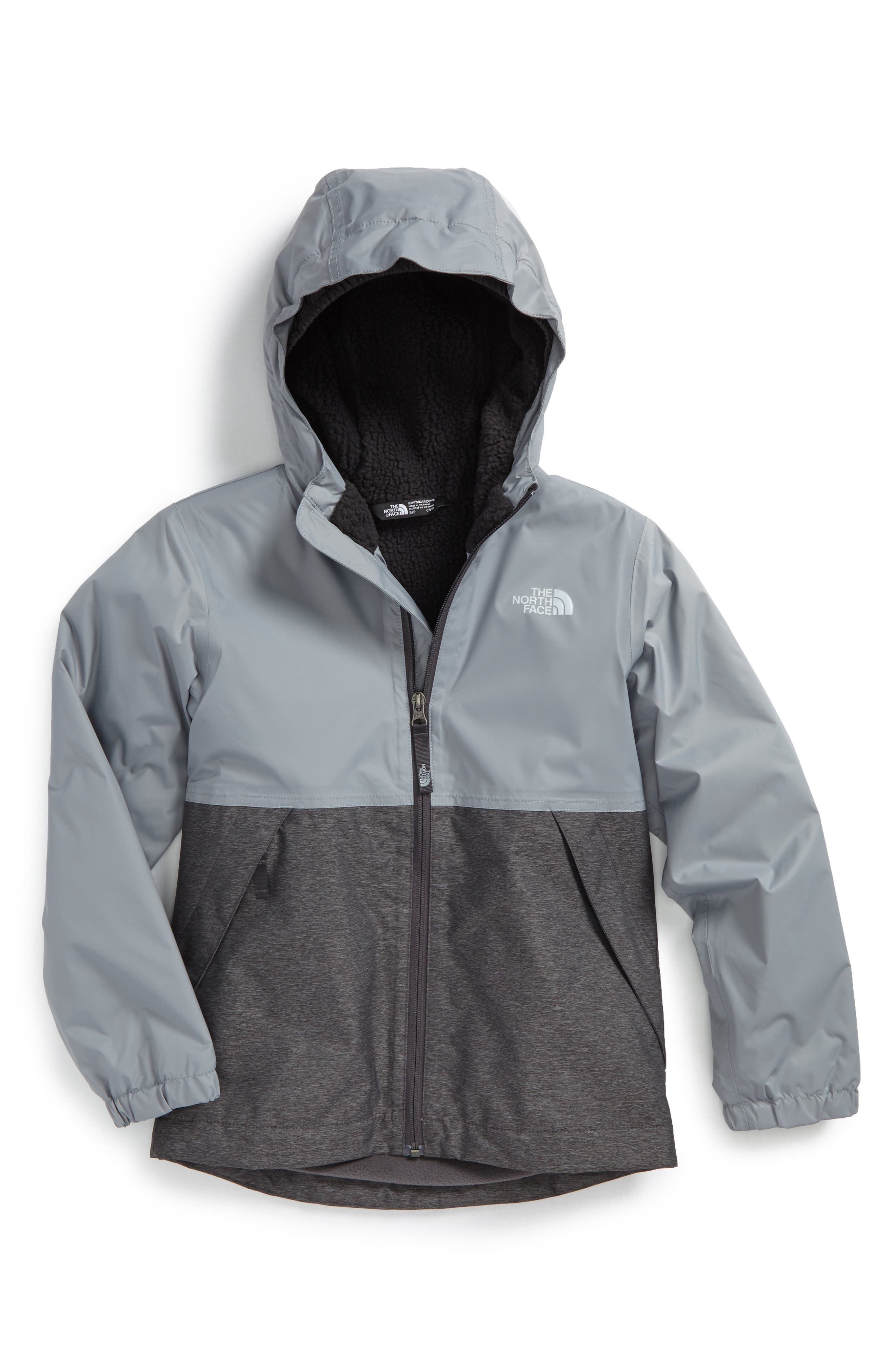 Main Image - The North Face Warm Storm Hooded Waterproof Jacket (Big Boys)