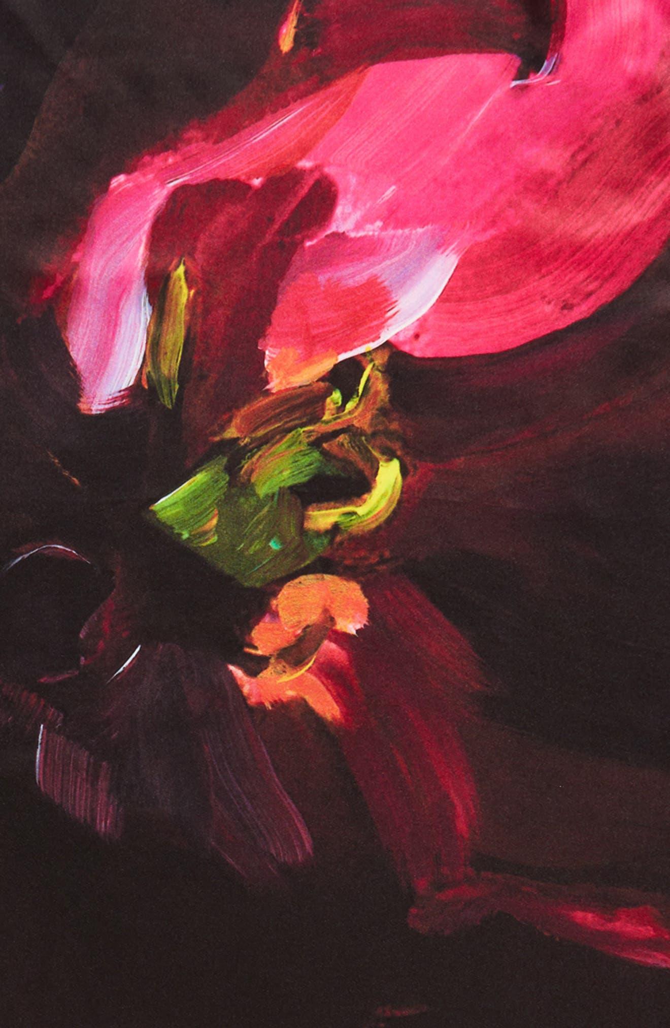 Alternate Image 3  - Ted Baker London Impressionist Bloom Square Silk Scarf