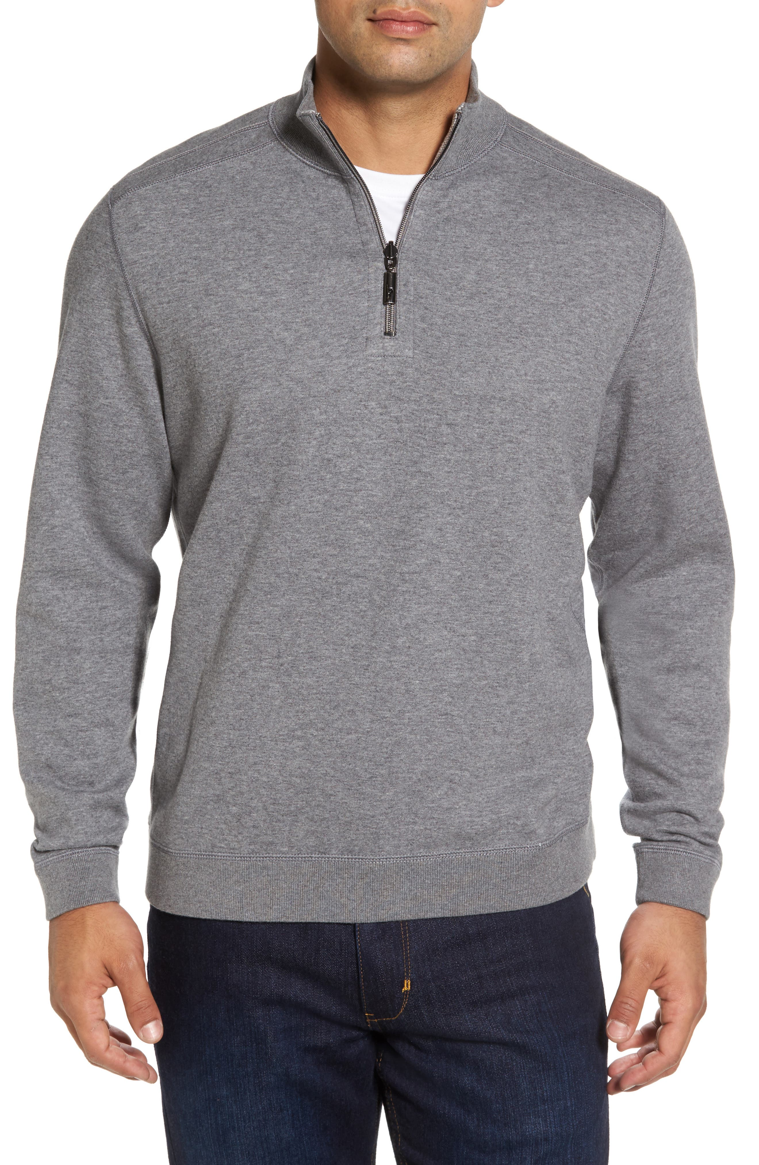 Alternate Image 1 Selected - Tommy Bahama Flip Drive Quarter Zip Pullover