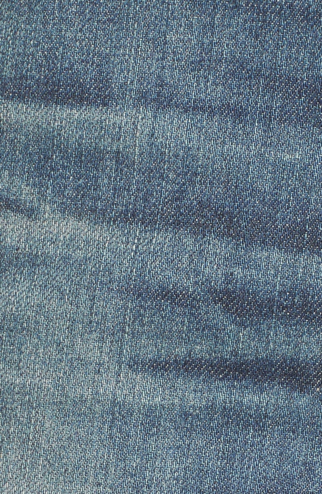 Alternate Image 5  - AG Everett Slim Straight Leg Jeans (12 Years River Veil)
