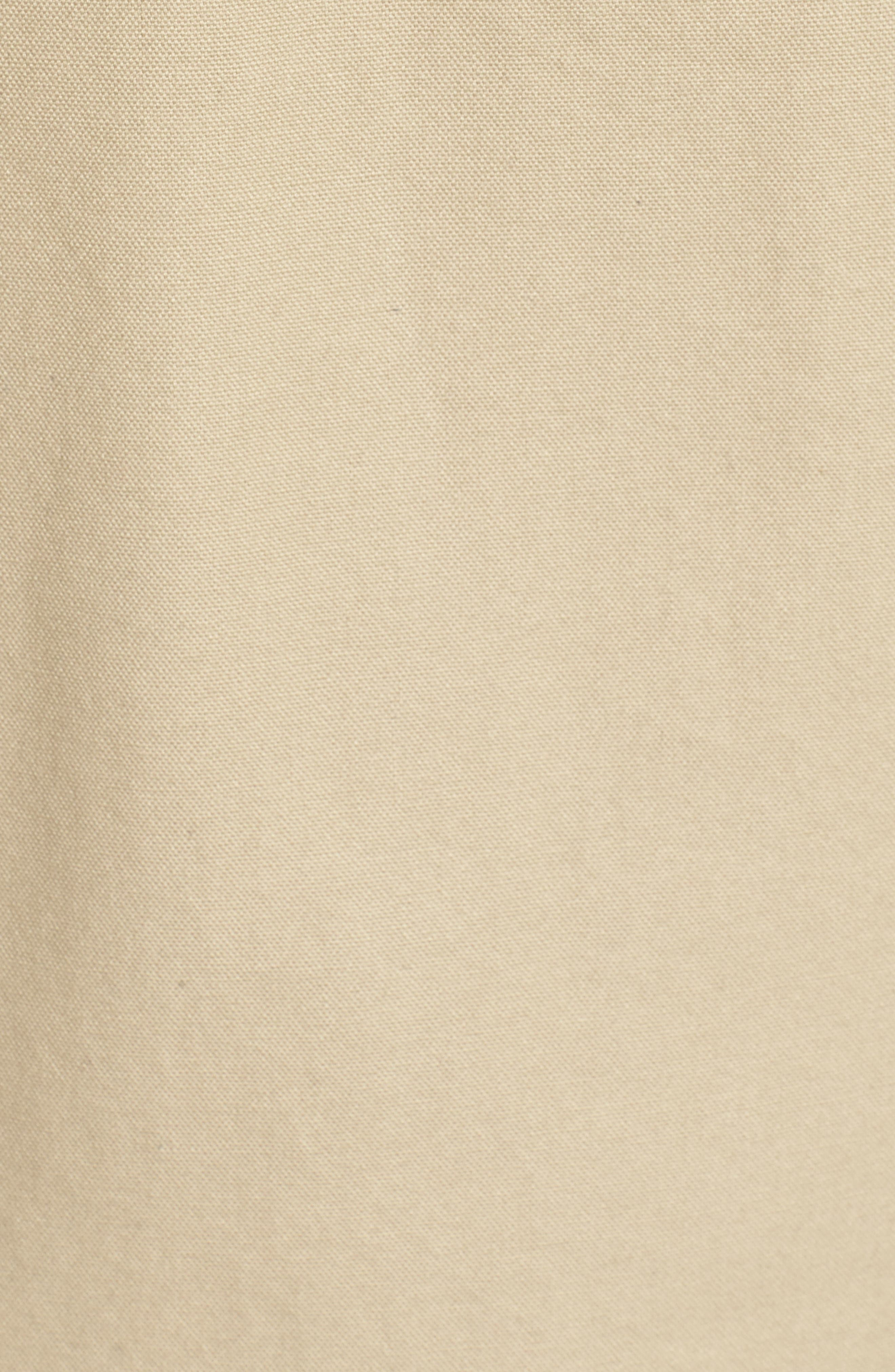 Colton Faux Shearling Trim Hooded Jacket,                             Alternate thumbnail 5, color,                             Khaki