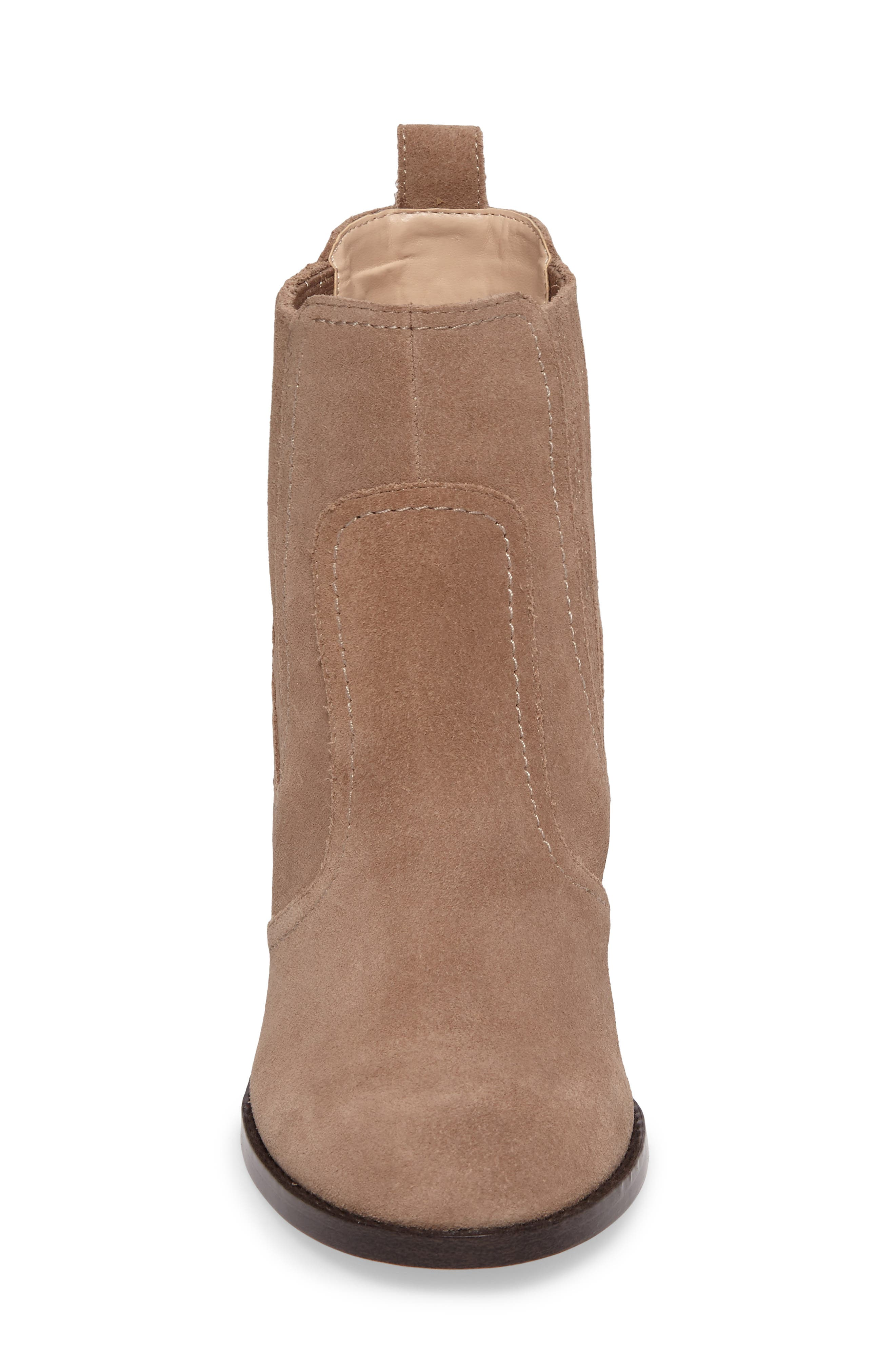 Harbor Bootie,                             Alternate thumbnail 4, color,                             Taupe