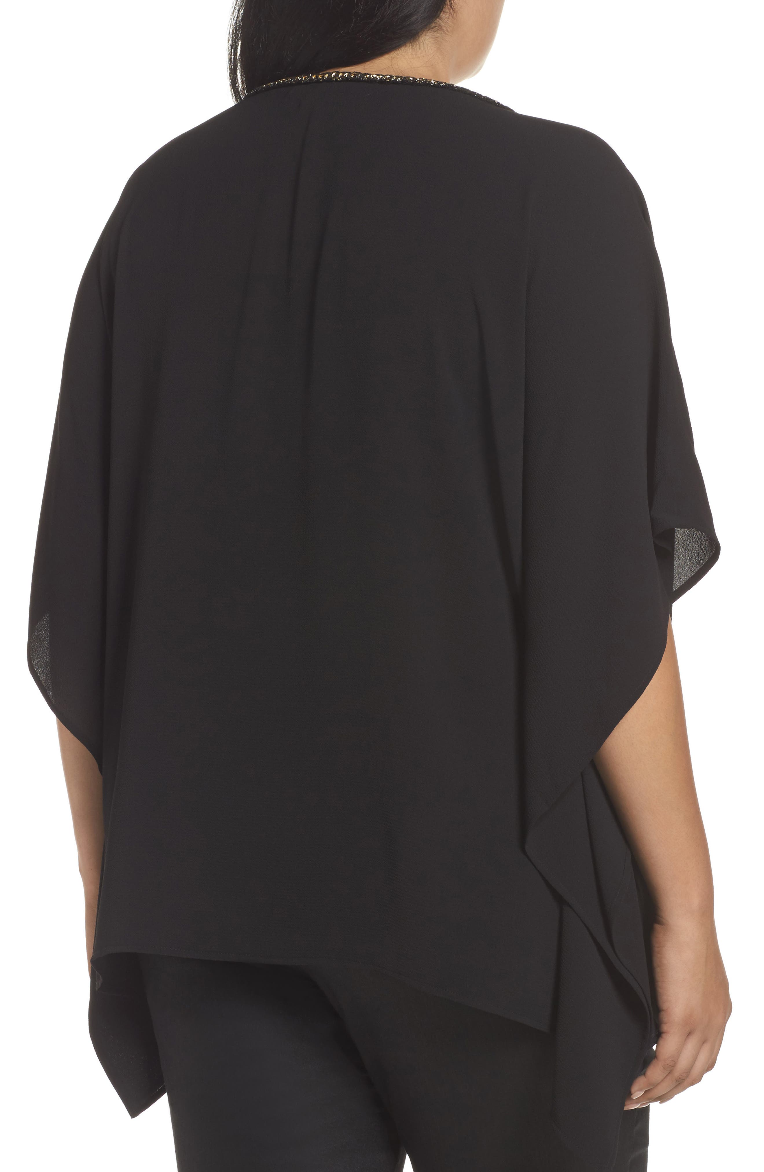 Alternate Image 2  - MICHAEL Michael Kors Chain Neck Top (Plus Size)