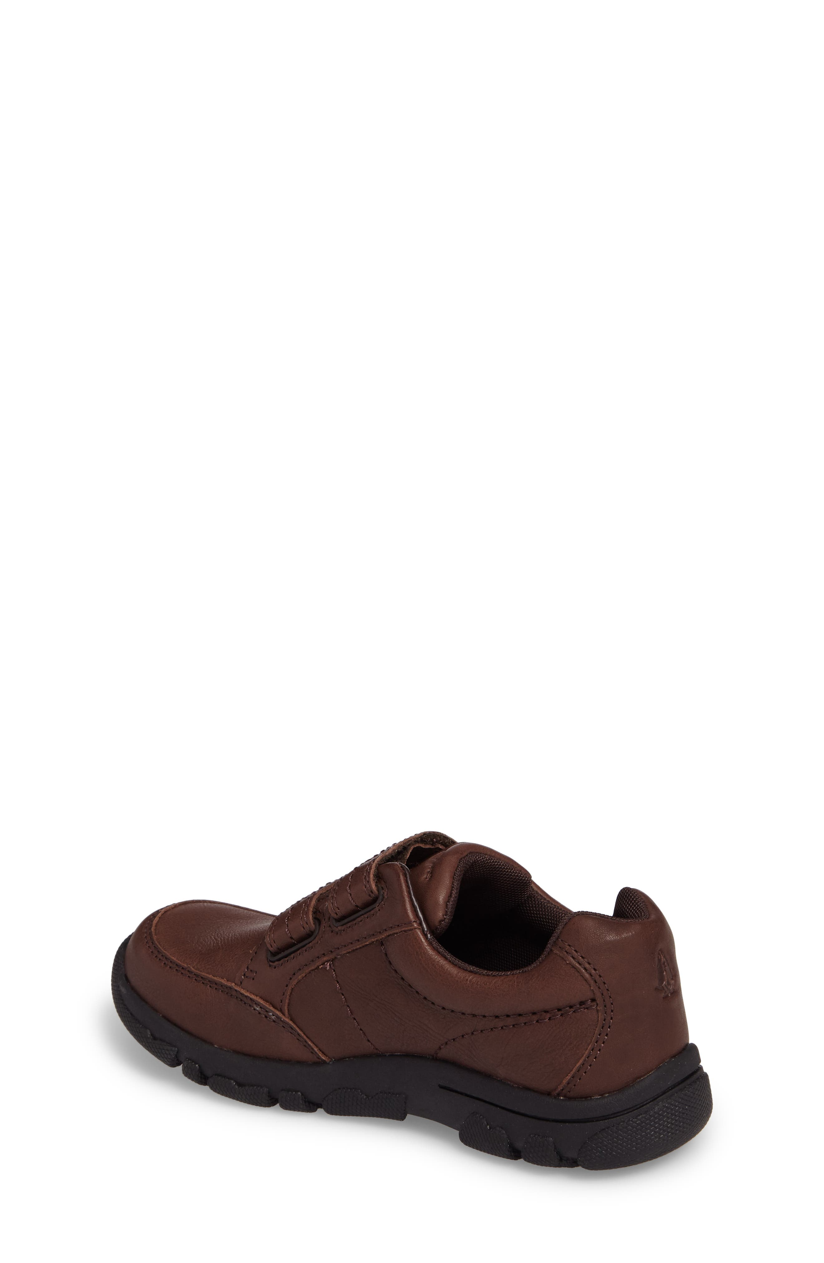 Jace Dress Sneaker,                             Alternate thumbnail 2, color,                             Brown Leather