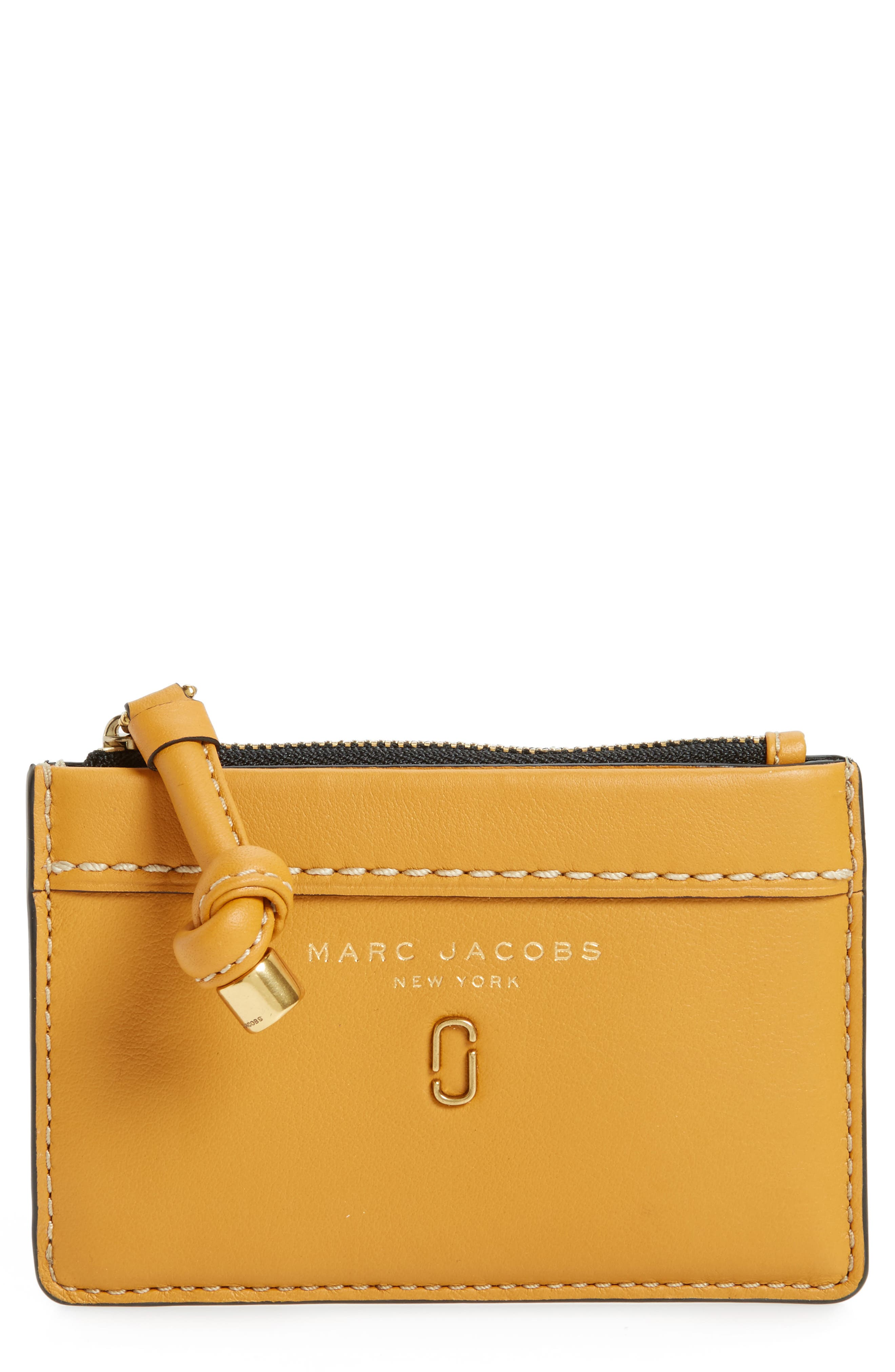 Alternate Image 1 Selected - MARC JACOBS Tied Up Leather Wallet