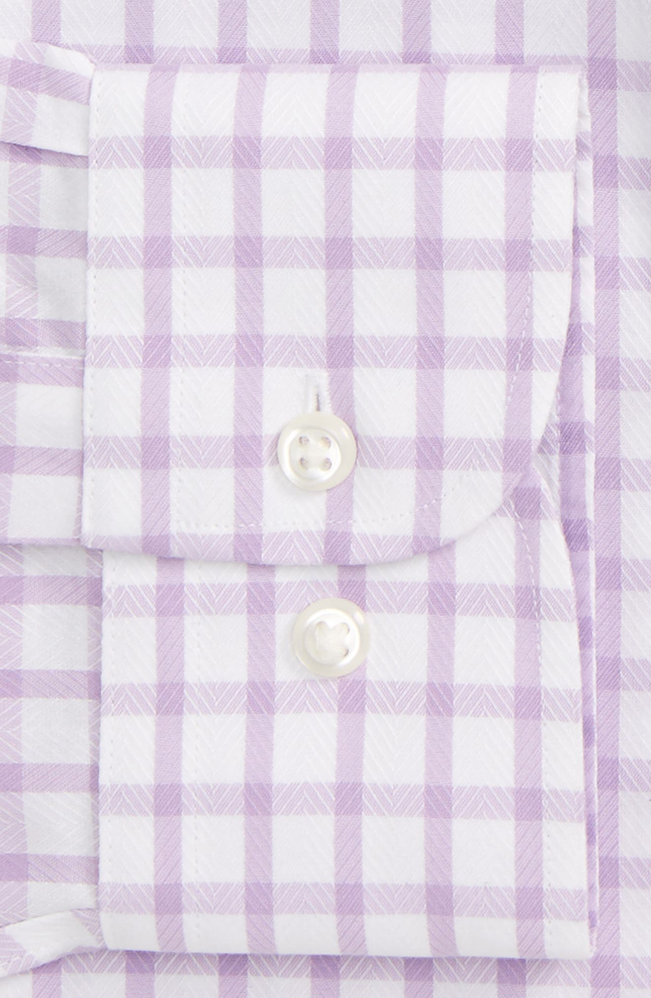 Alternate Image 5  - Nordstrom Men's Shop Smartcare™ Extra Trim Fit Check Dress Shirt