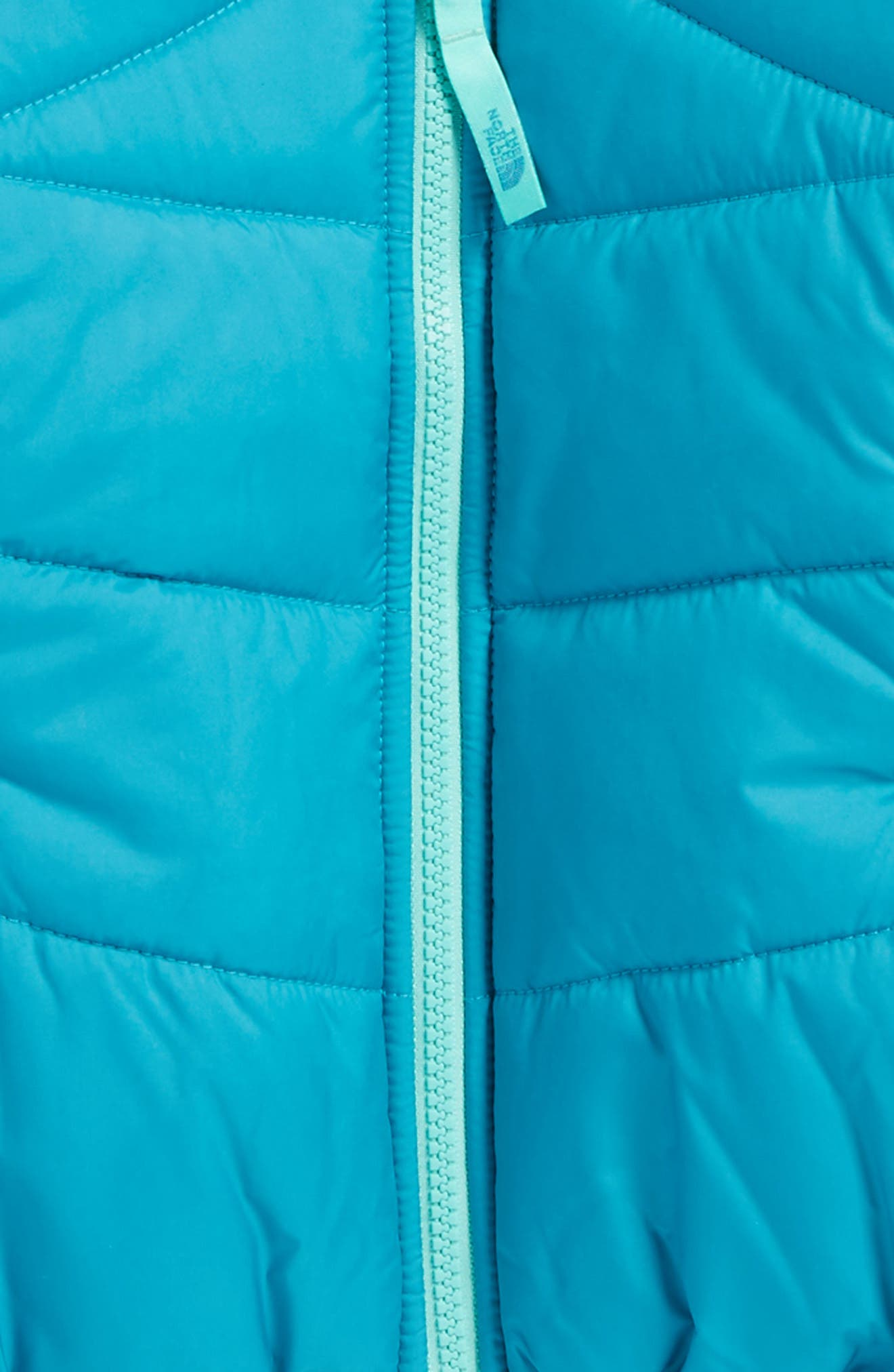 Alternate Image 3  - The North Face Perrito Reversible Water-Repellent Hooded Jacket (Toddler Girls & Little Girls)