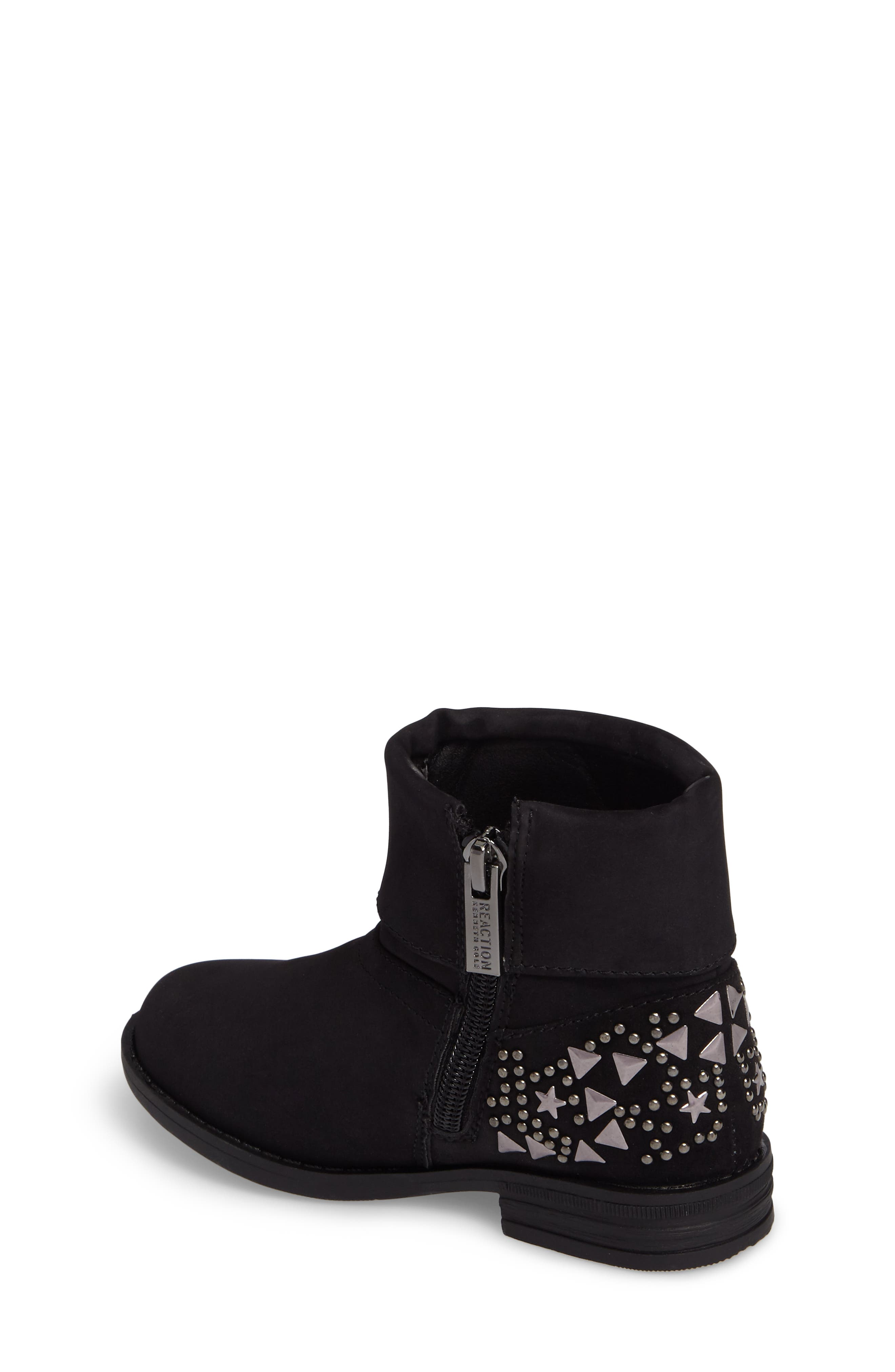 Wild Star Studded Bootie,                             Alternate thumbnail 2, color,                             Black
