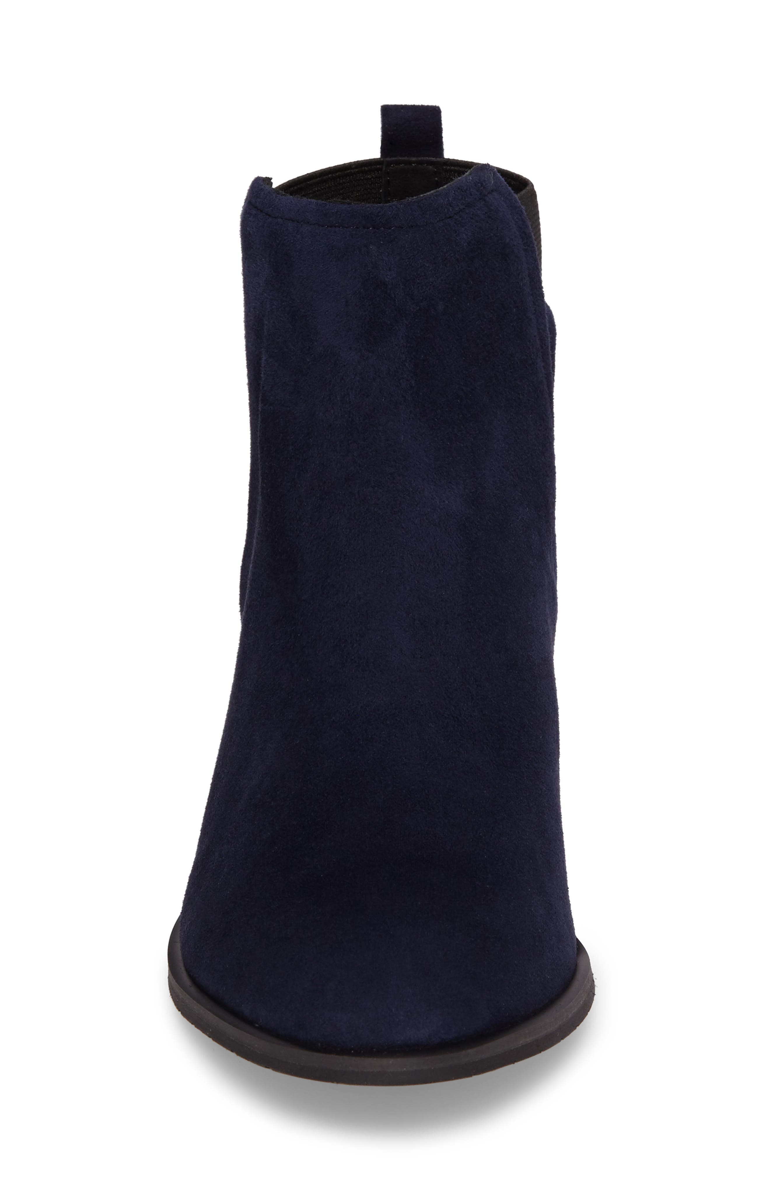Artie Bootie,                             Alternate thumbnail 4, color,                             Navy Suede