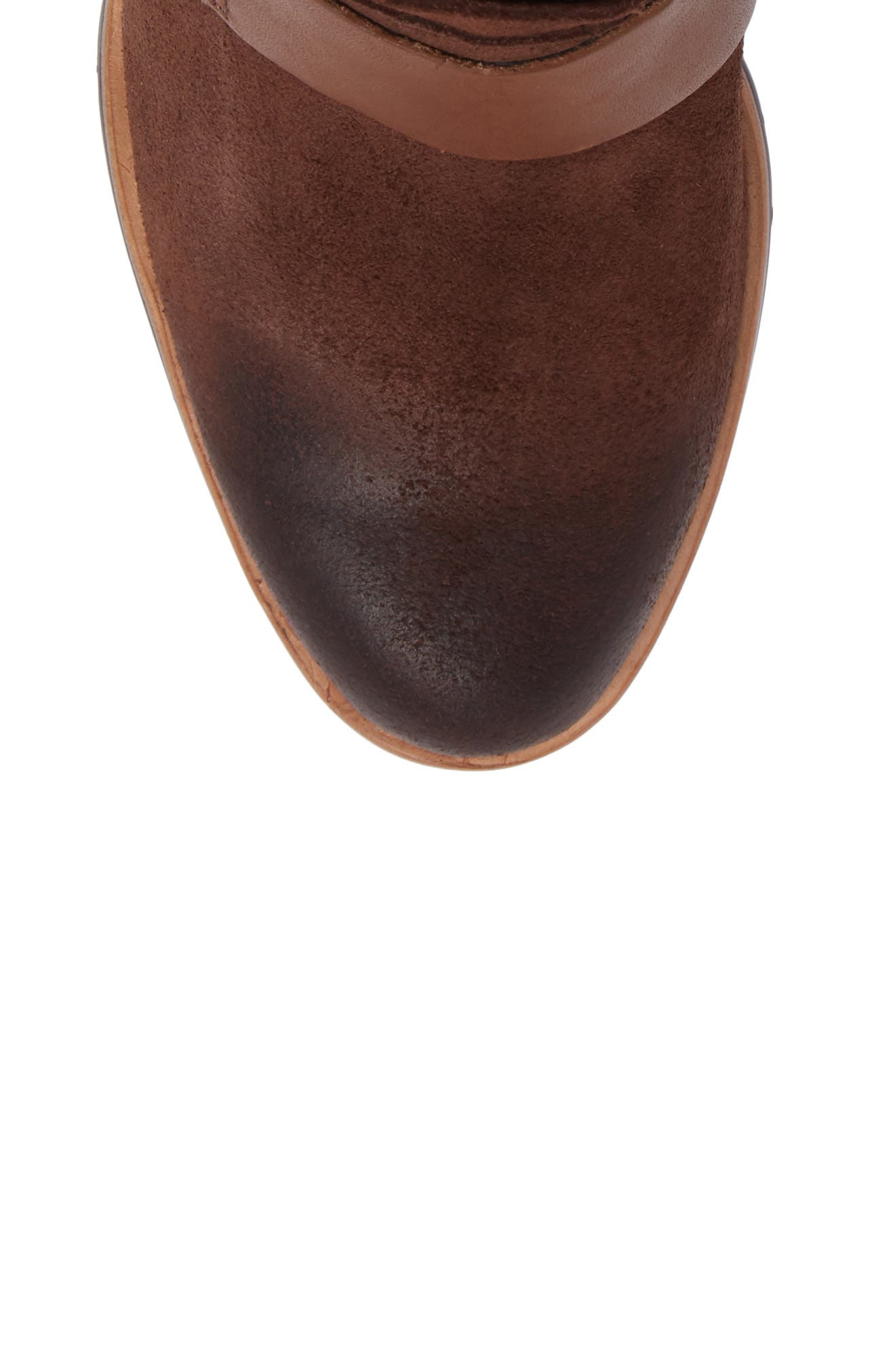 After Hours Waterproof Bootie,                             Alternate thumbnail 5, color,                             Tobacco