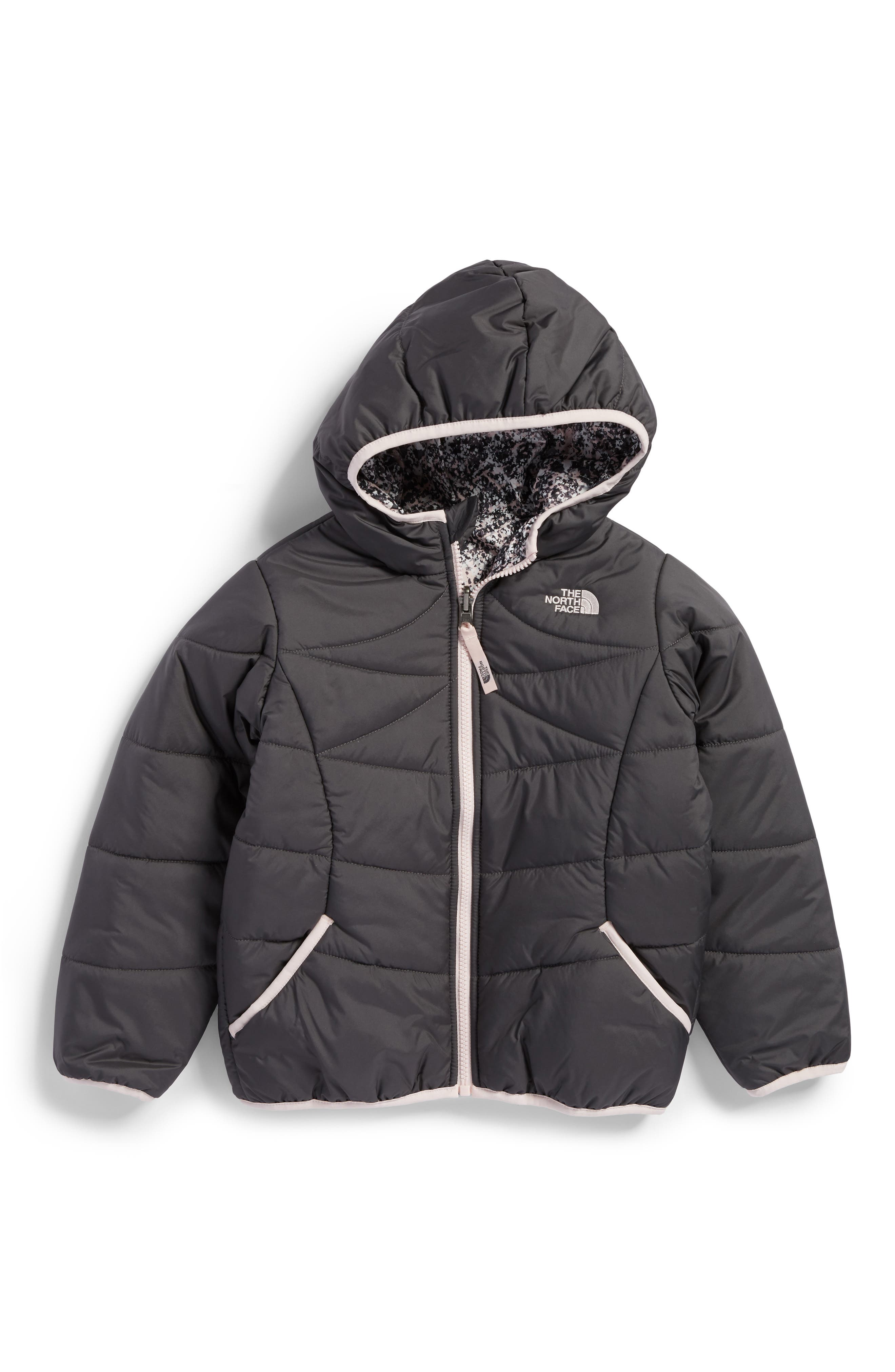 Alternate Image 2  - The North Face Perrito Reversible Water-Repellent Hooded Jacket (Toddler Girls & Little Girls)