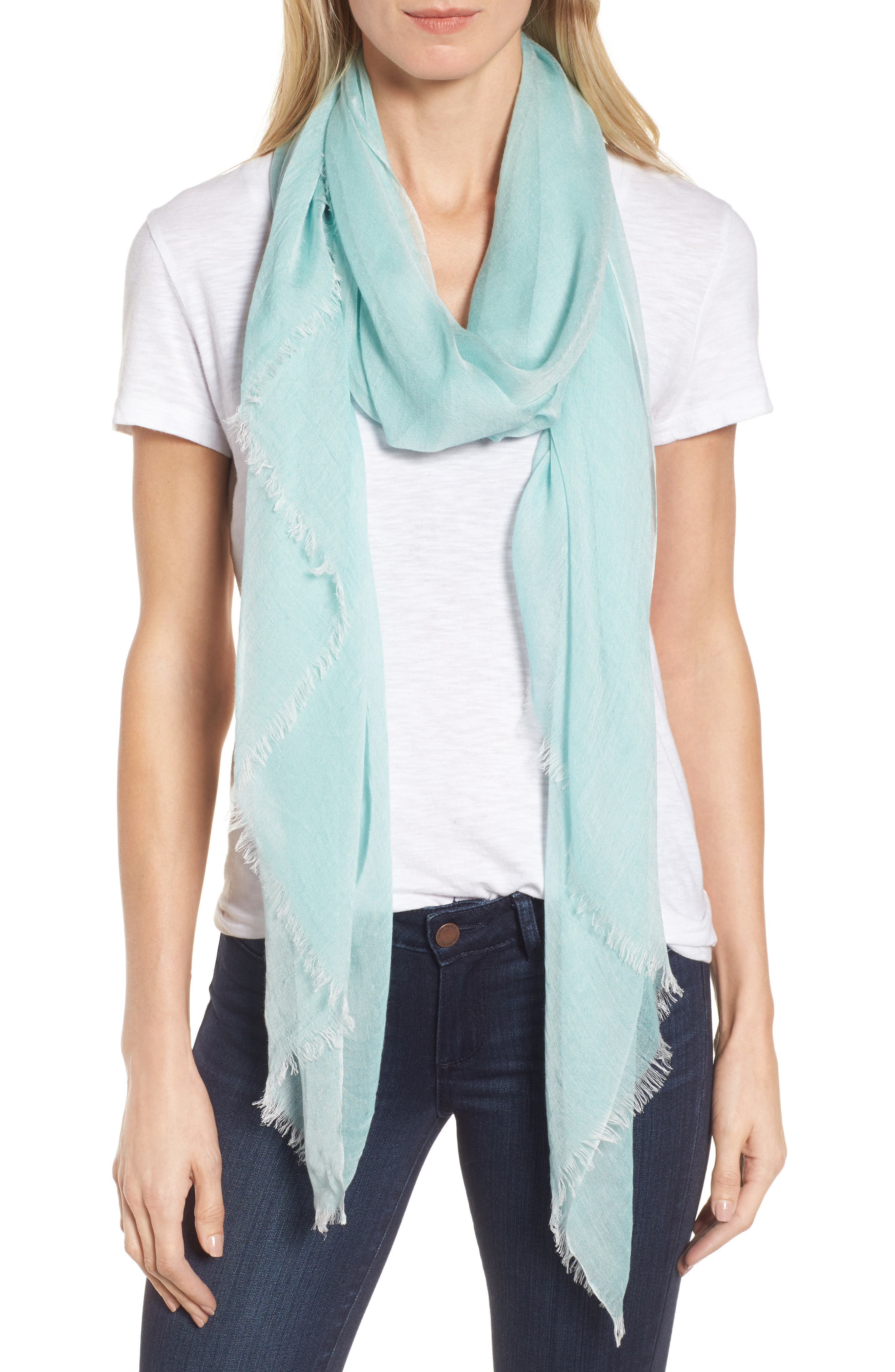 Main Image - Nordstrom Modal Silk Blend Scarf