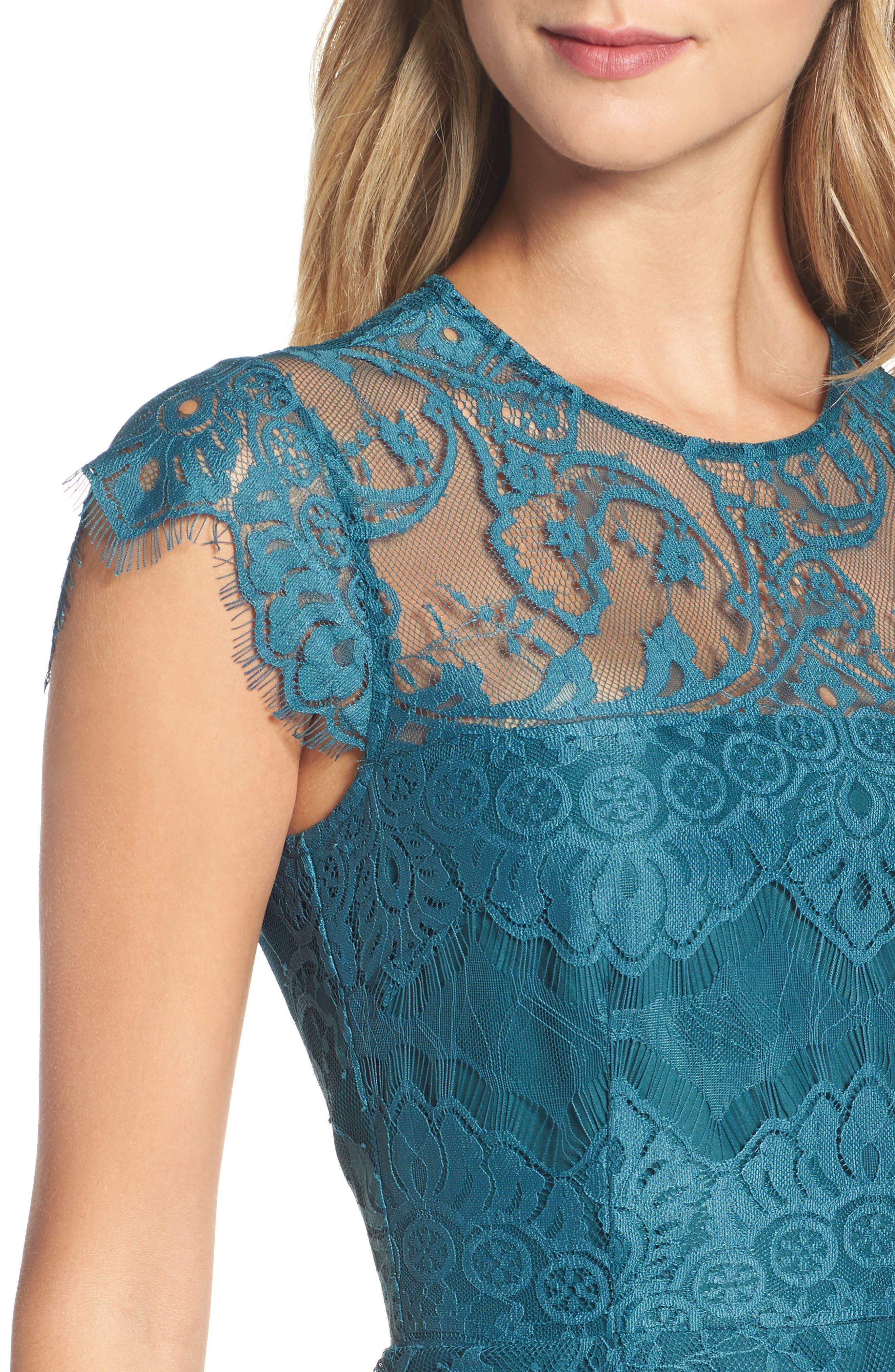 Alternate Image 4  - BB Dakota Jayce Lace Sheath Dress