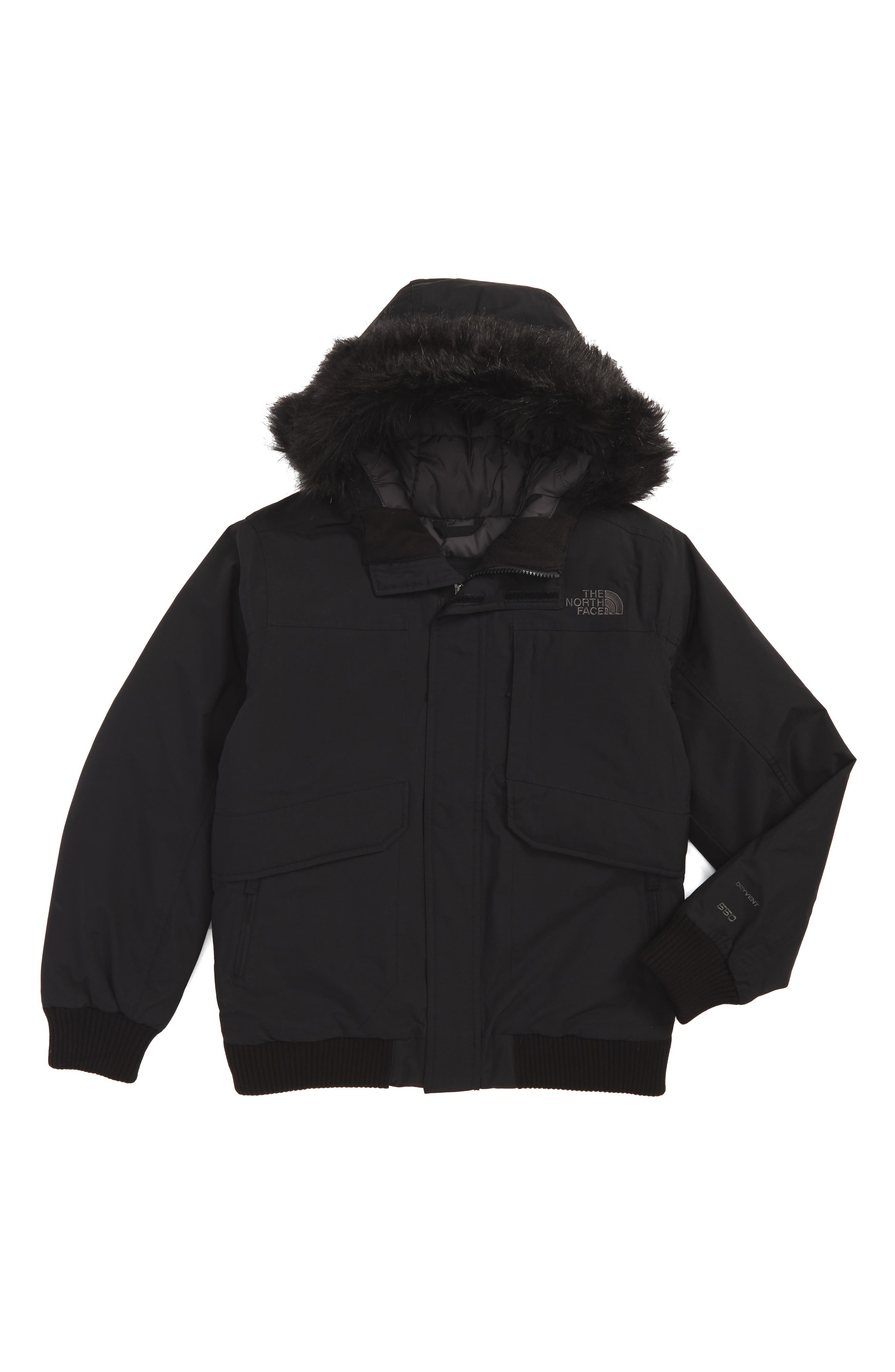 The North Face Gotham Hooded Down Jacket (Big Boys)