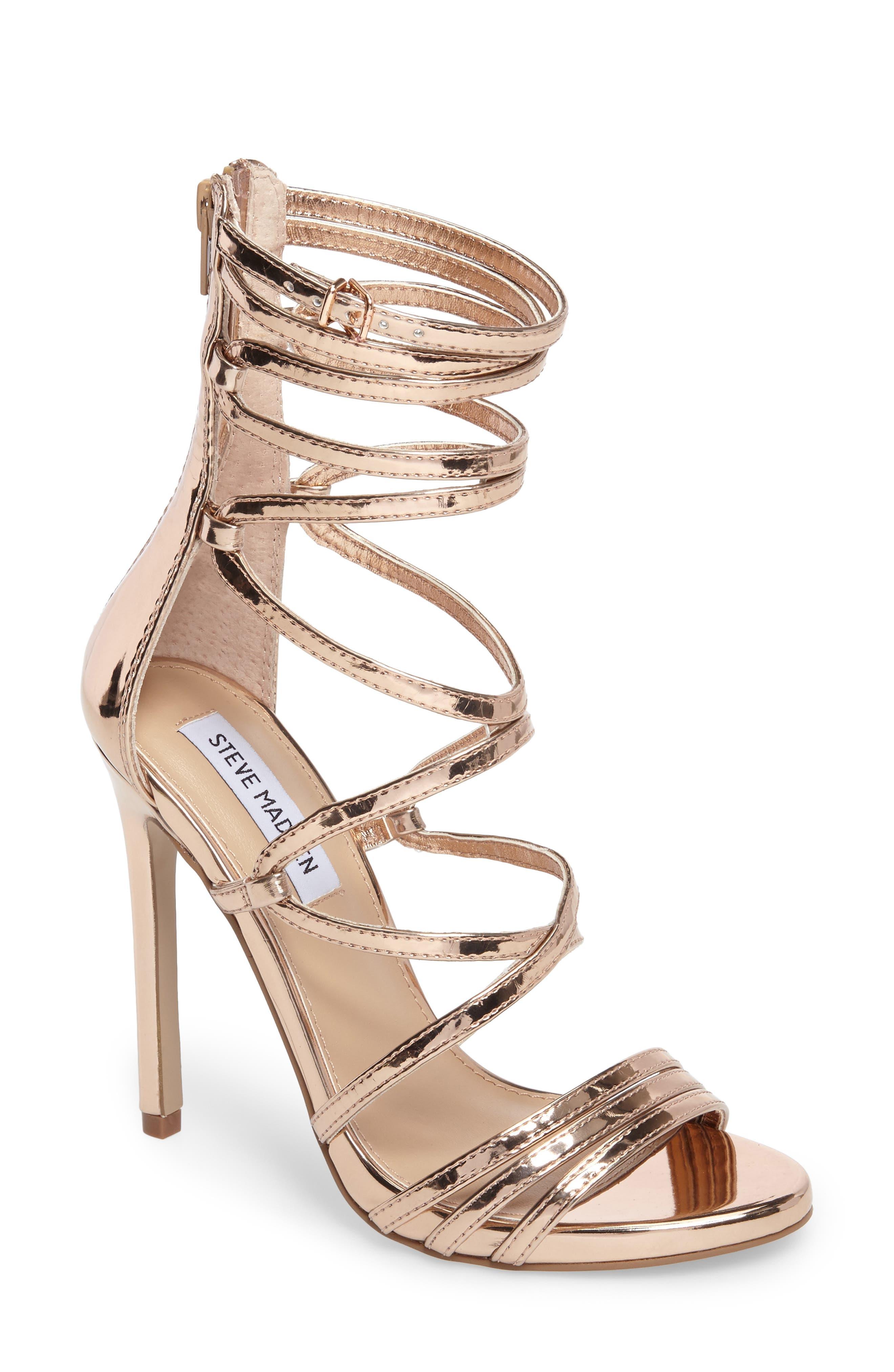 Steve Madden Flaunt Gladiator Sandal (Women)