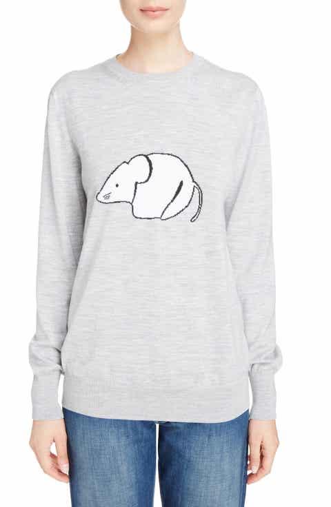 Loewe Mouse Intarsia Wool Sweater