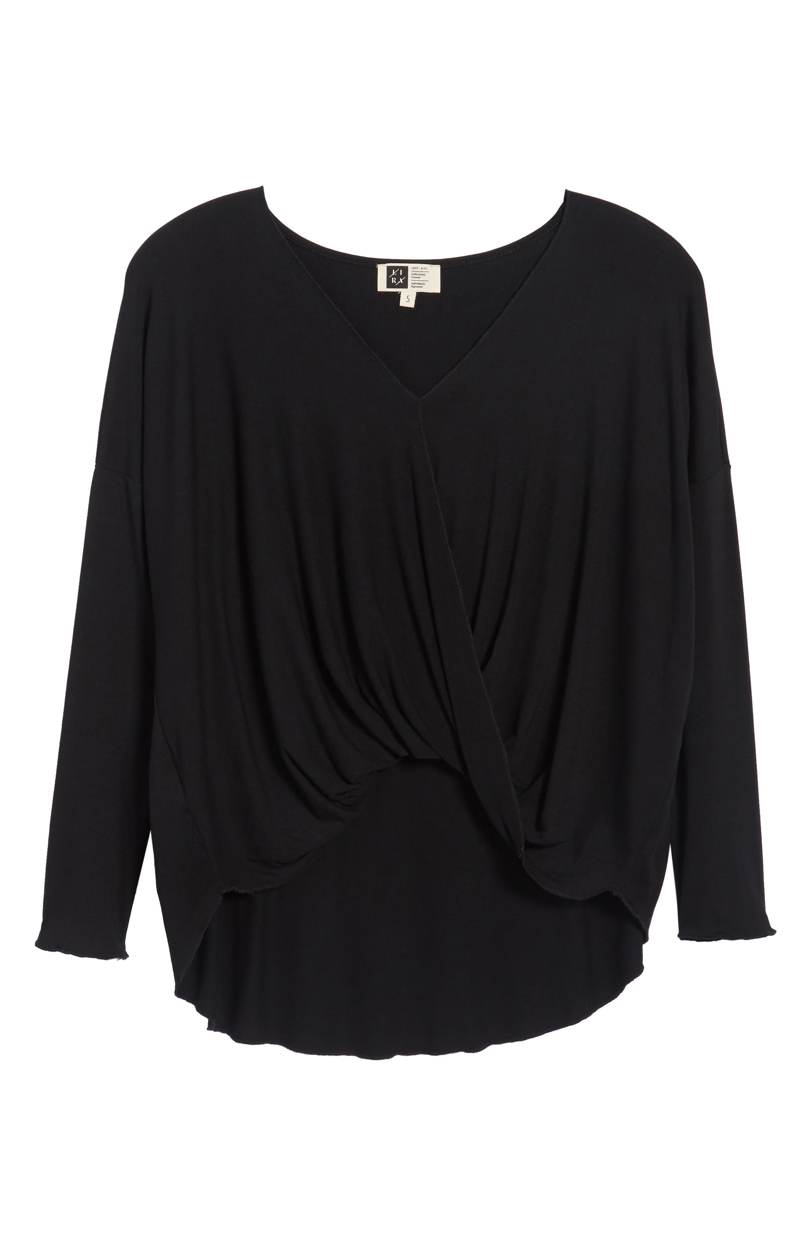 Alternate Image 6  - Lira Clothing Modern Surplice Top