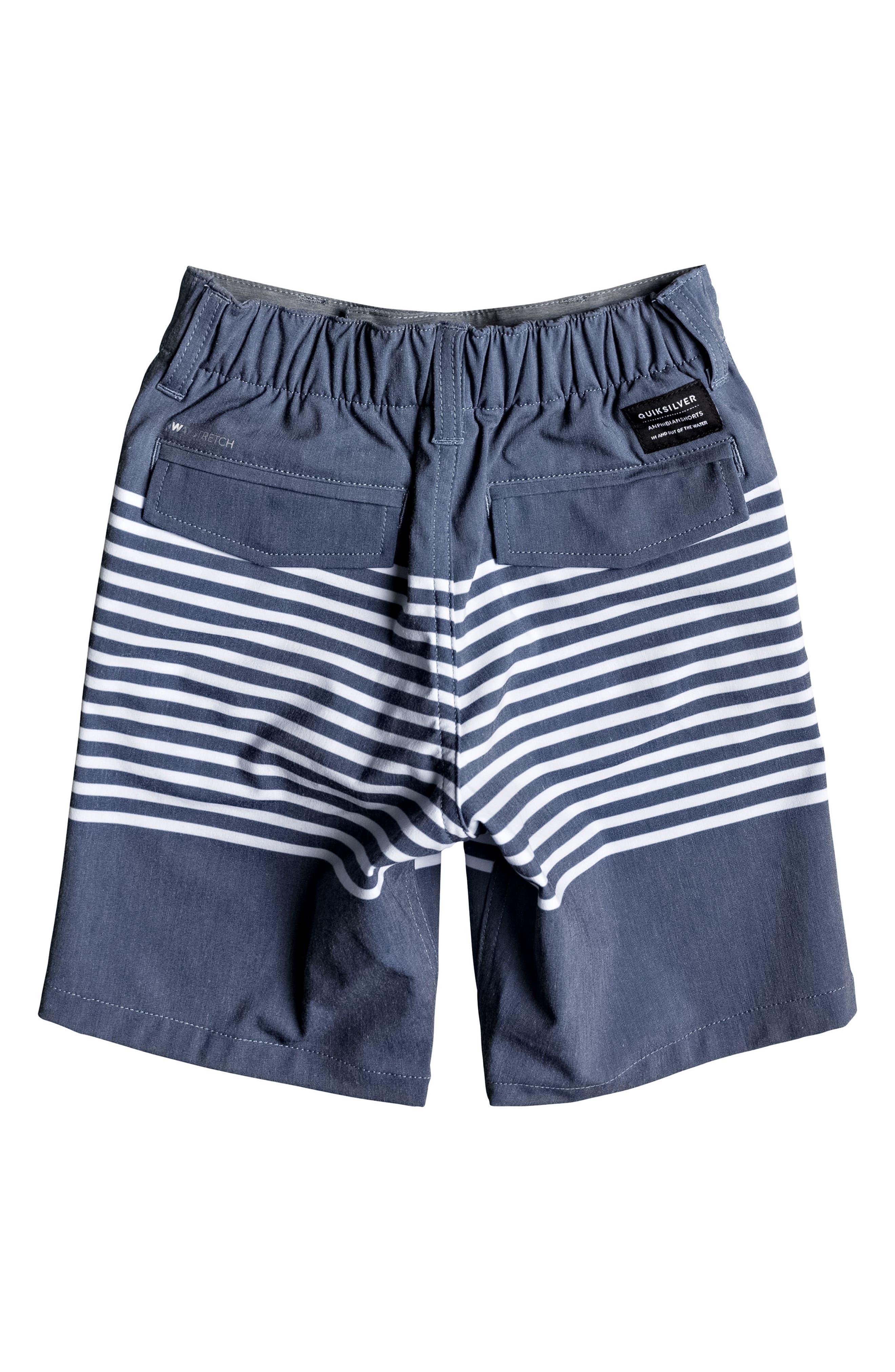 Echo Stripe Amphibian Board Shorts,                             Alternate thumbnail 2, color,                             Estate Blue