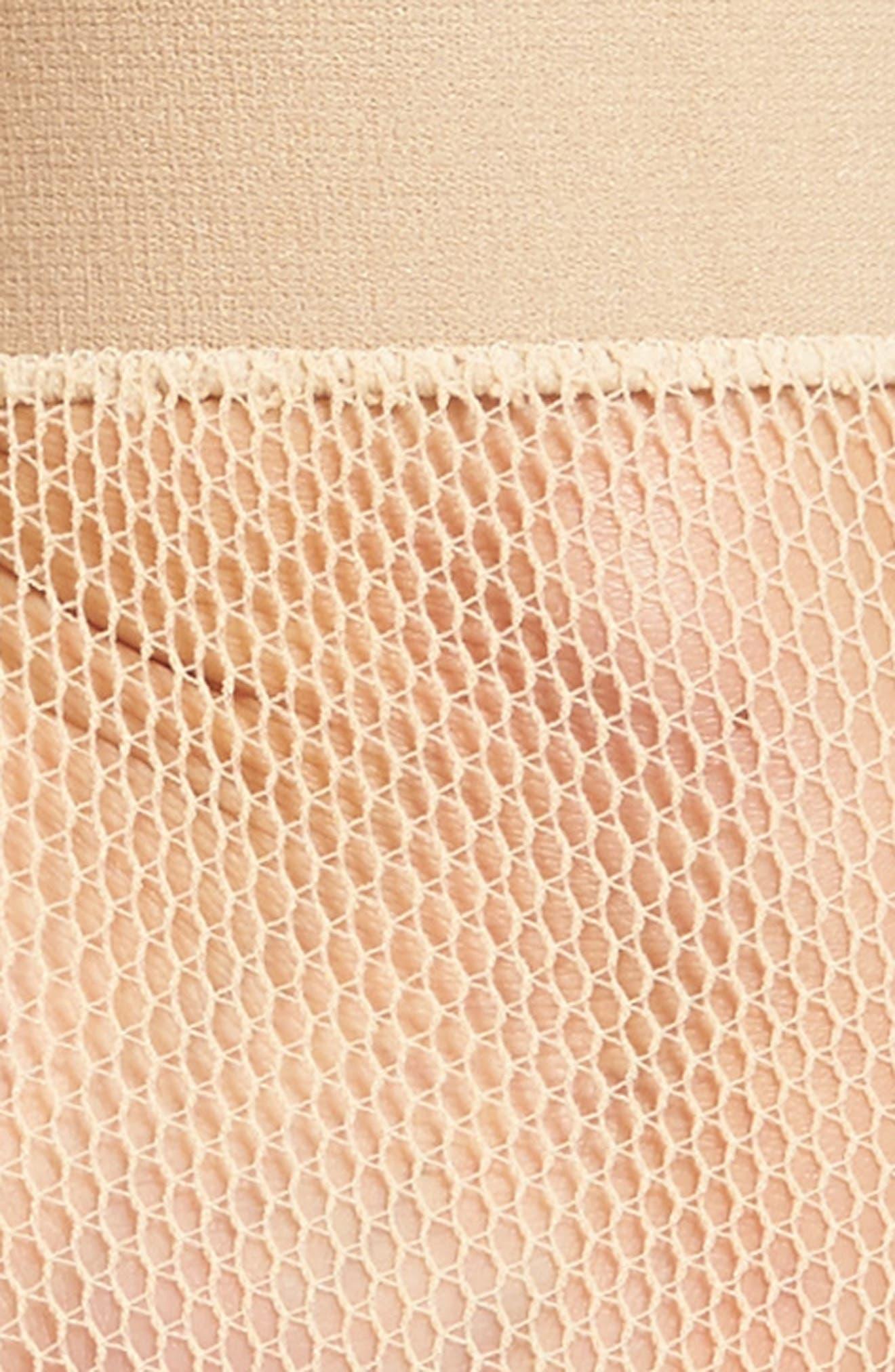 Alternate Image 2  - Hue Fishnet Ankle Socks