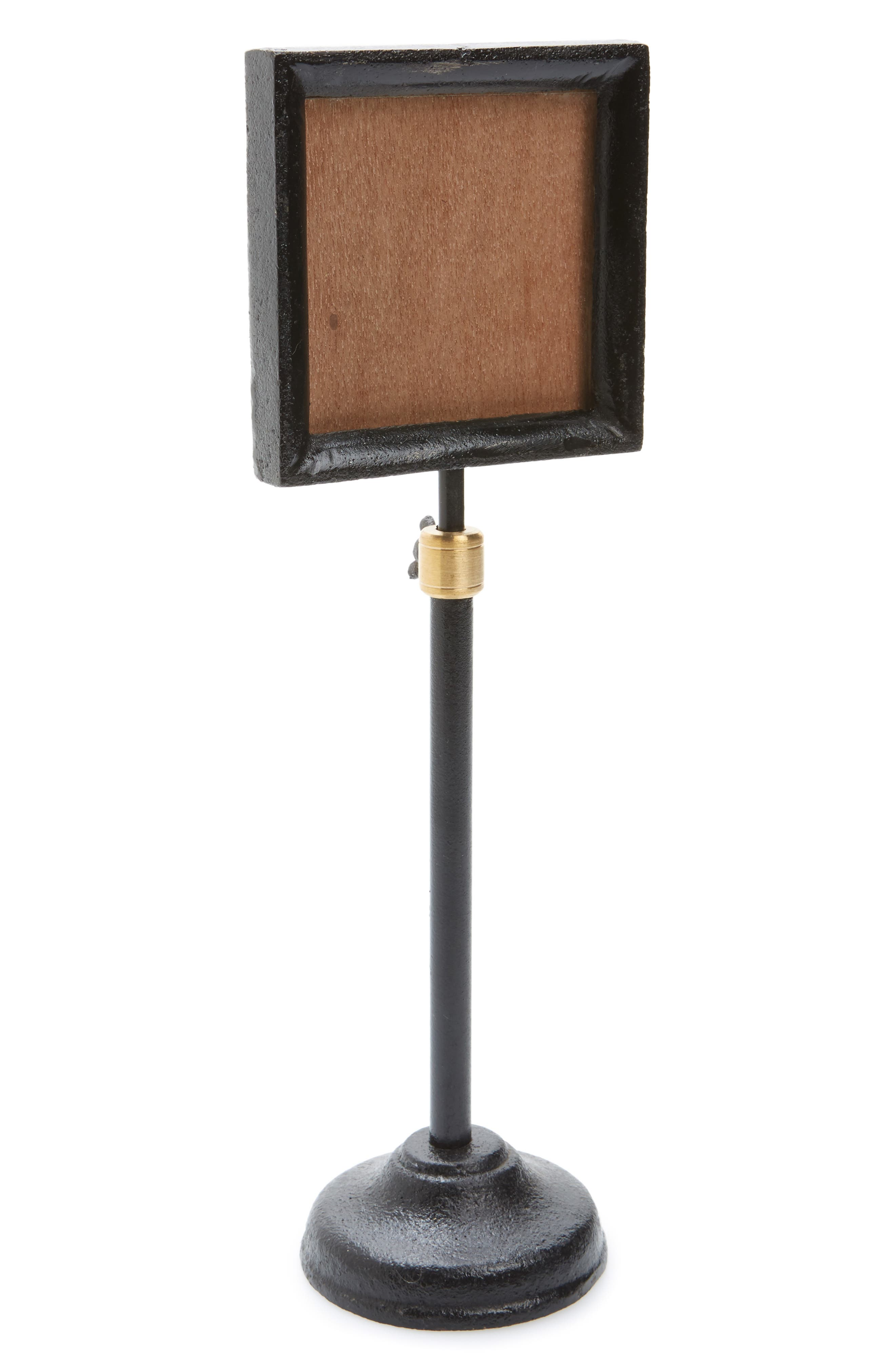 Telescoping Picture Frame,                         Main,                         color, Black
