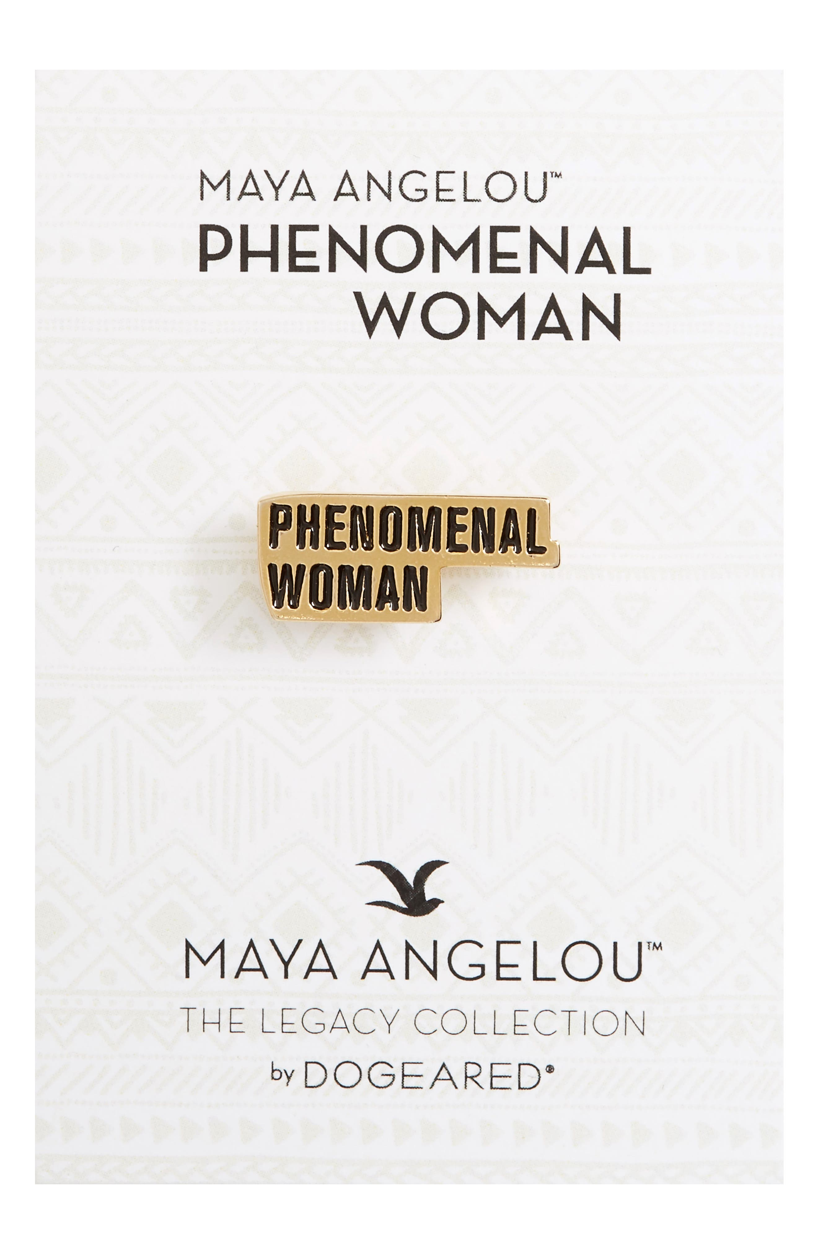 Alternate Image 1 Selected - Dogeared Legacy Collection - Phenomenal Women Pin