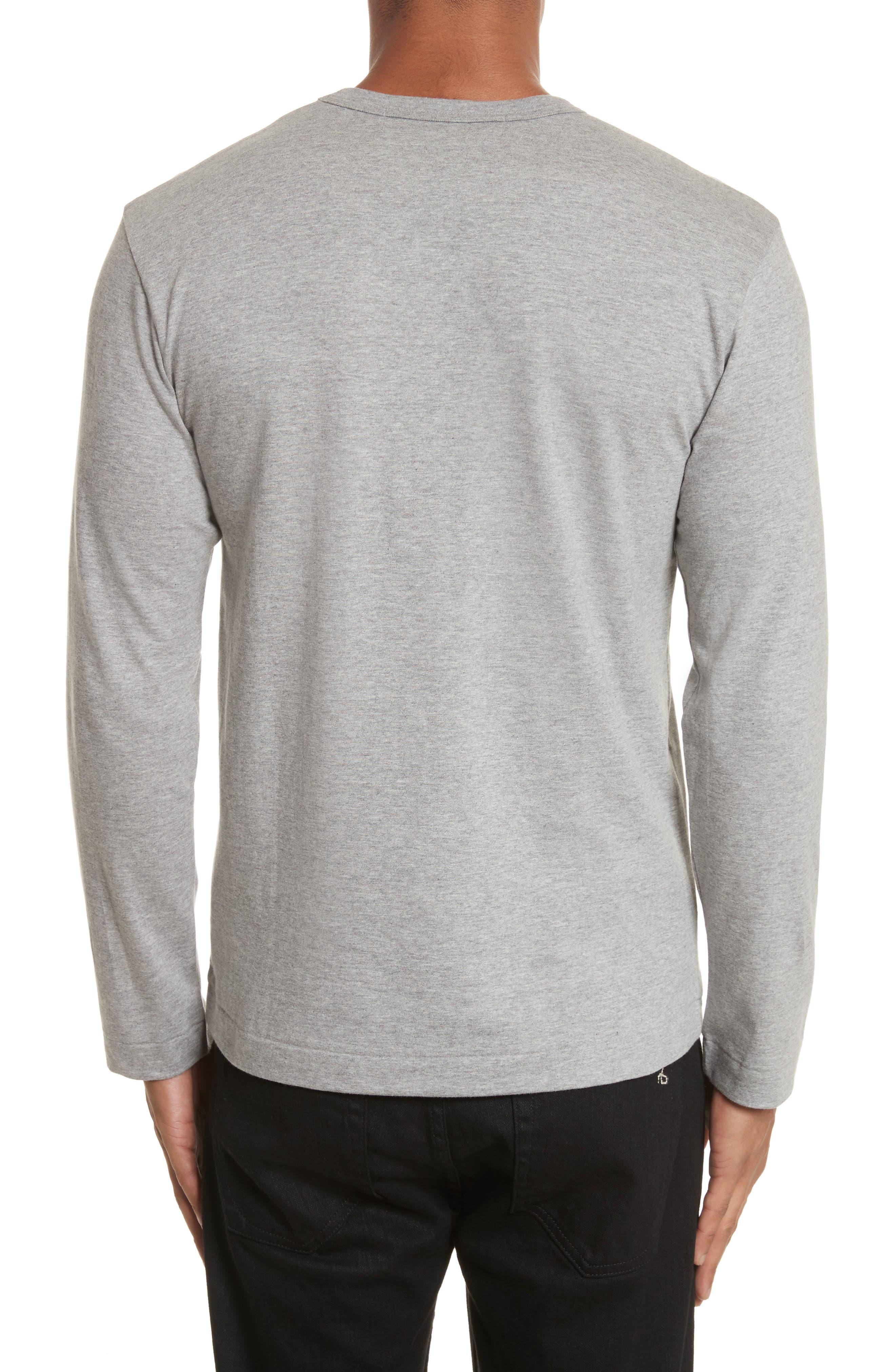 PLAY Long Sleeve T-Shirt,                             Alternate thumbnail 2, color,                             Grey