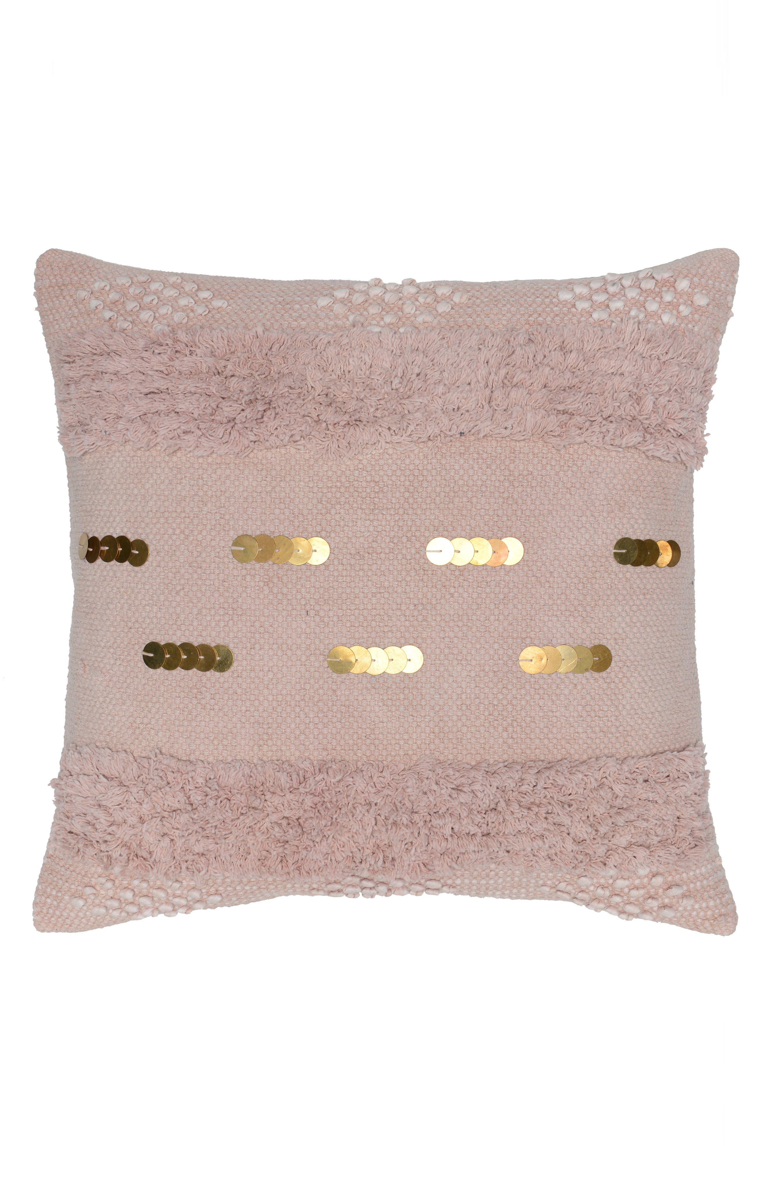 Seine Pillow,                             Main thumbnail 1, color,                             Blush