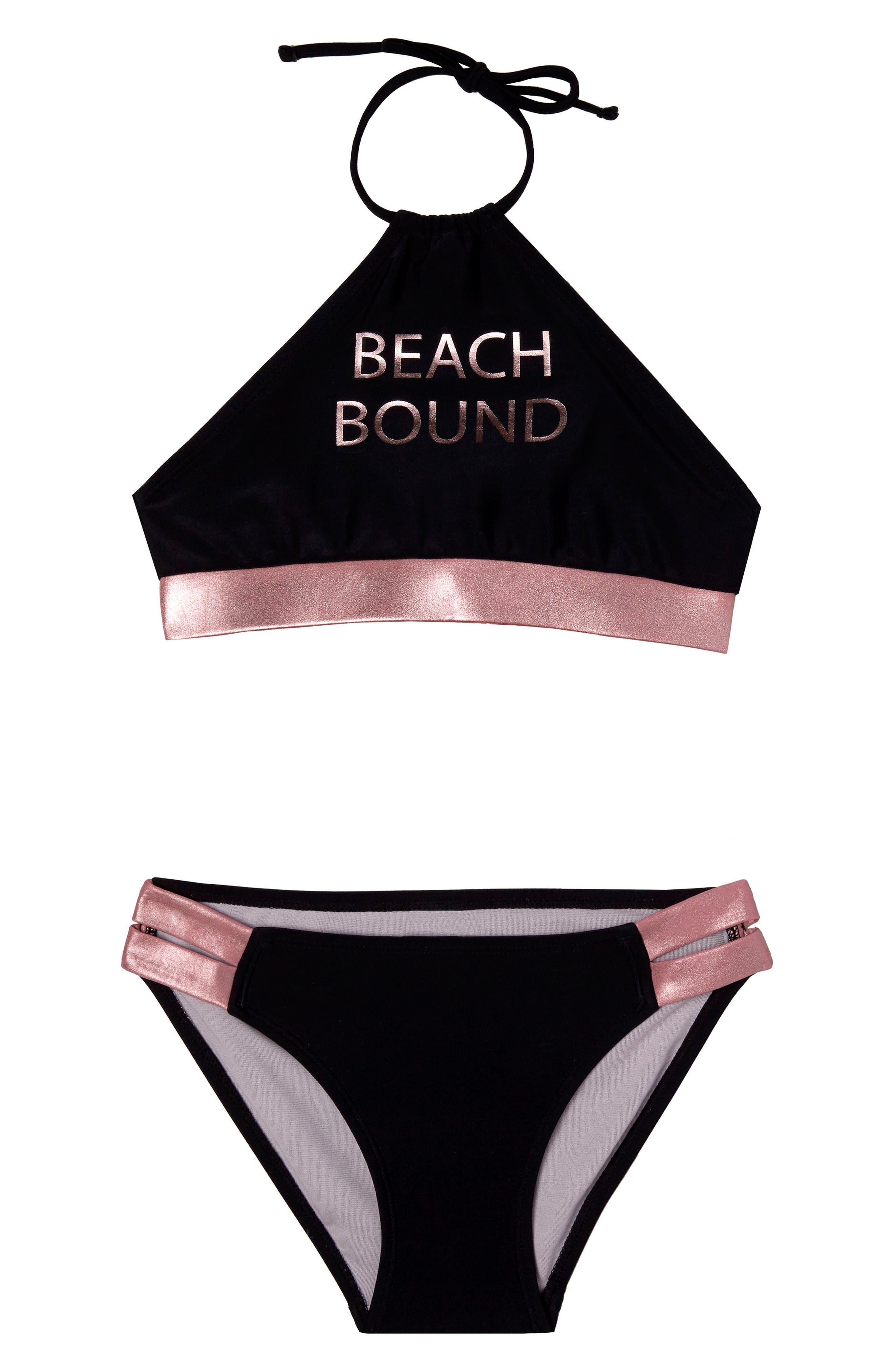 Gossip Girl Beach Bound Two-Piece Swimsuit (Big Girls)