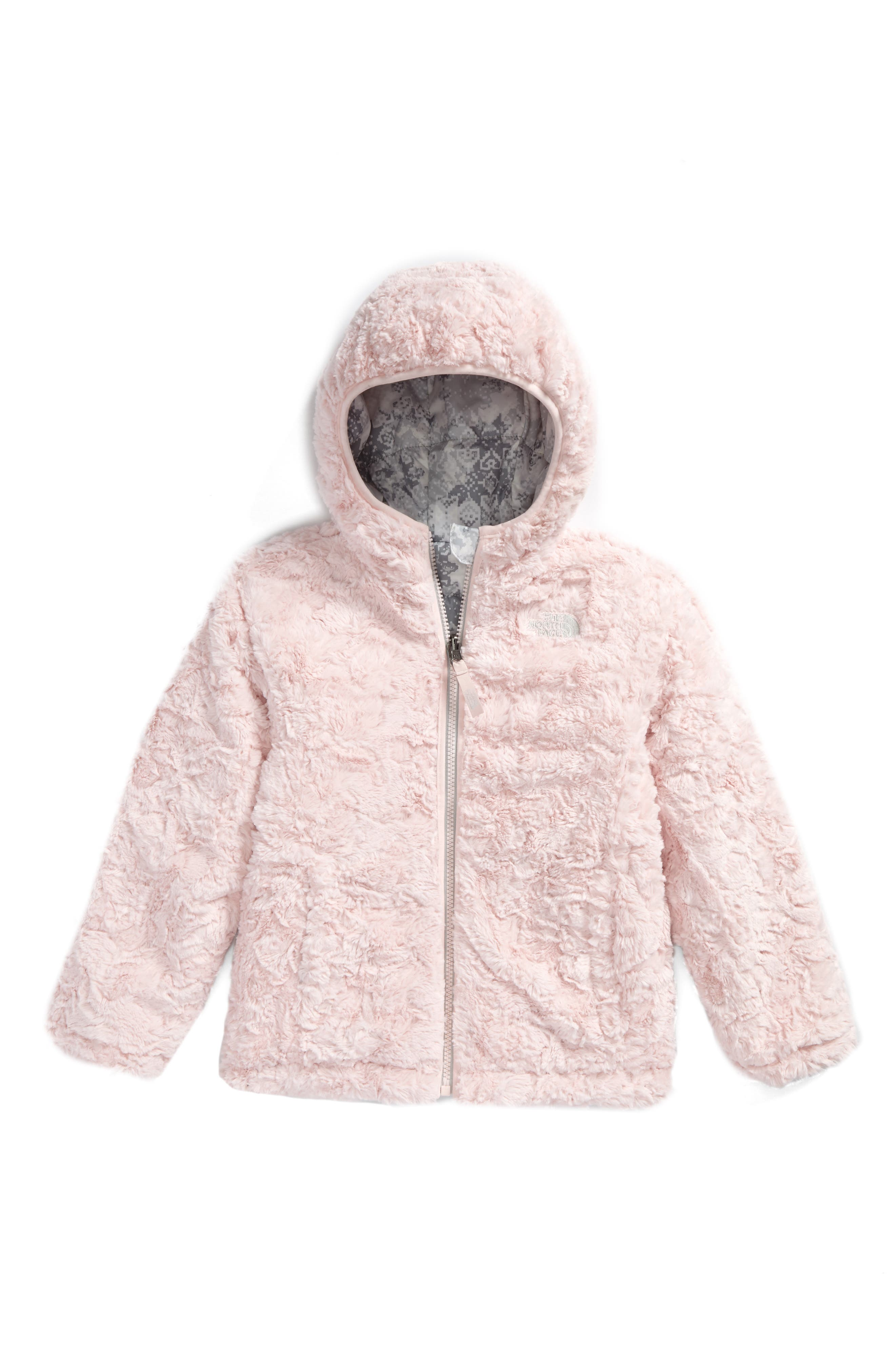 Alternate Image 2  - The North Face Mossbud Swirl Reversible Water Repellent Jacket (Toddler Girls & Little Girls)