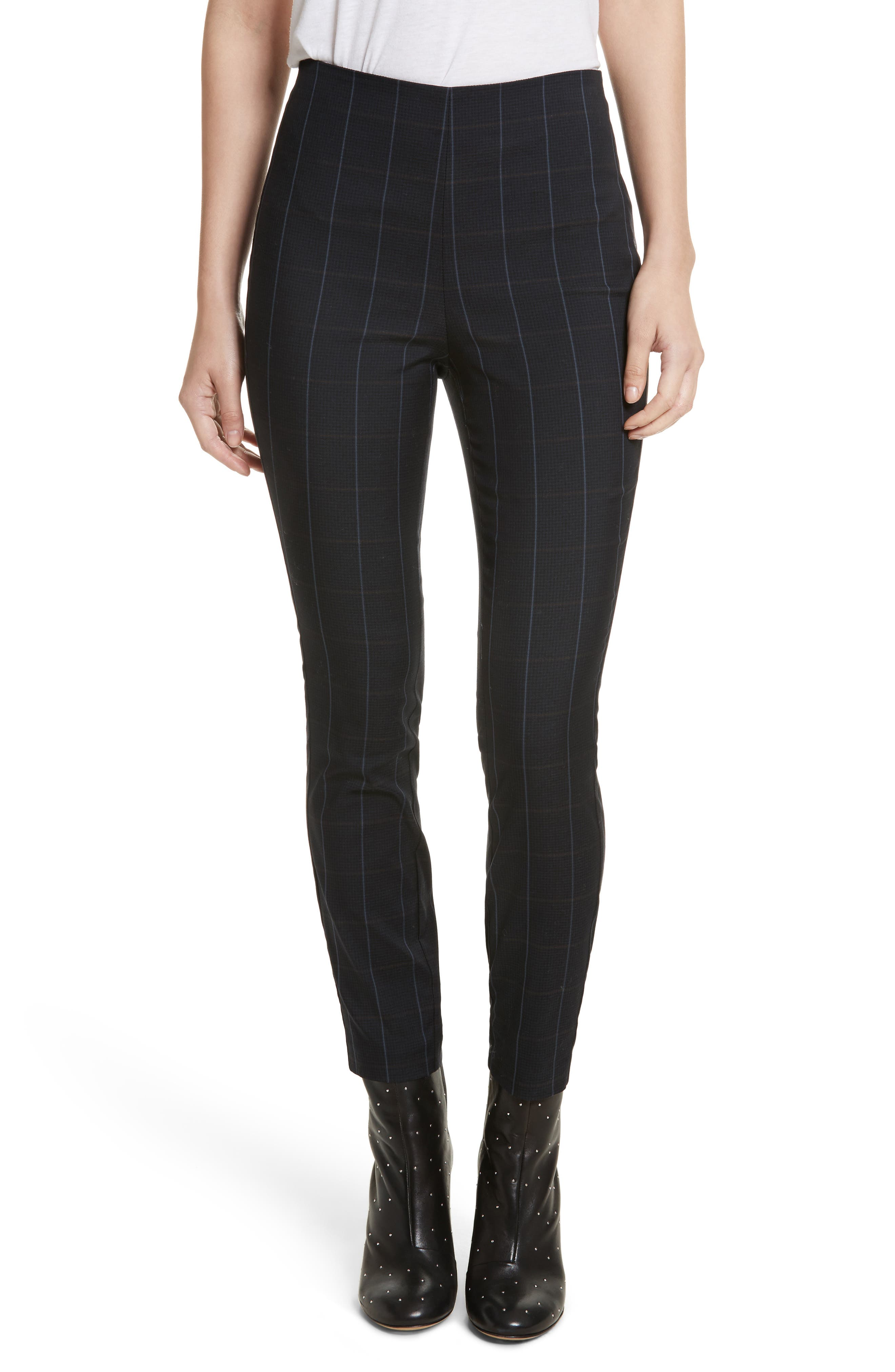 Main Image - rag & bone Simone Glen Plaid Pants